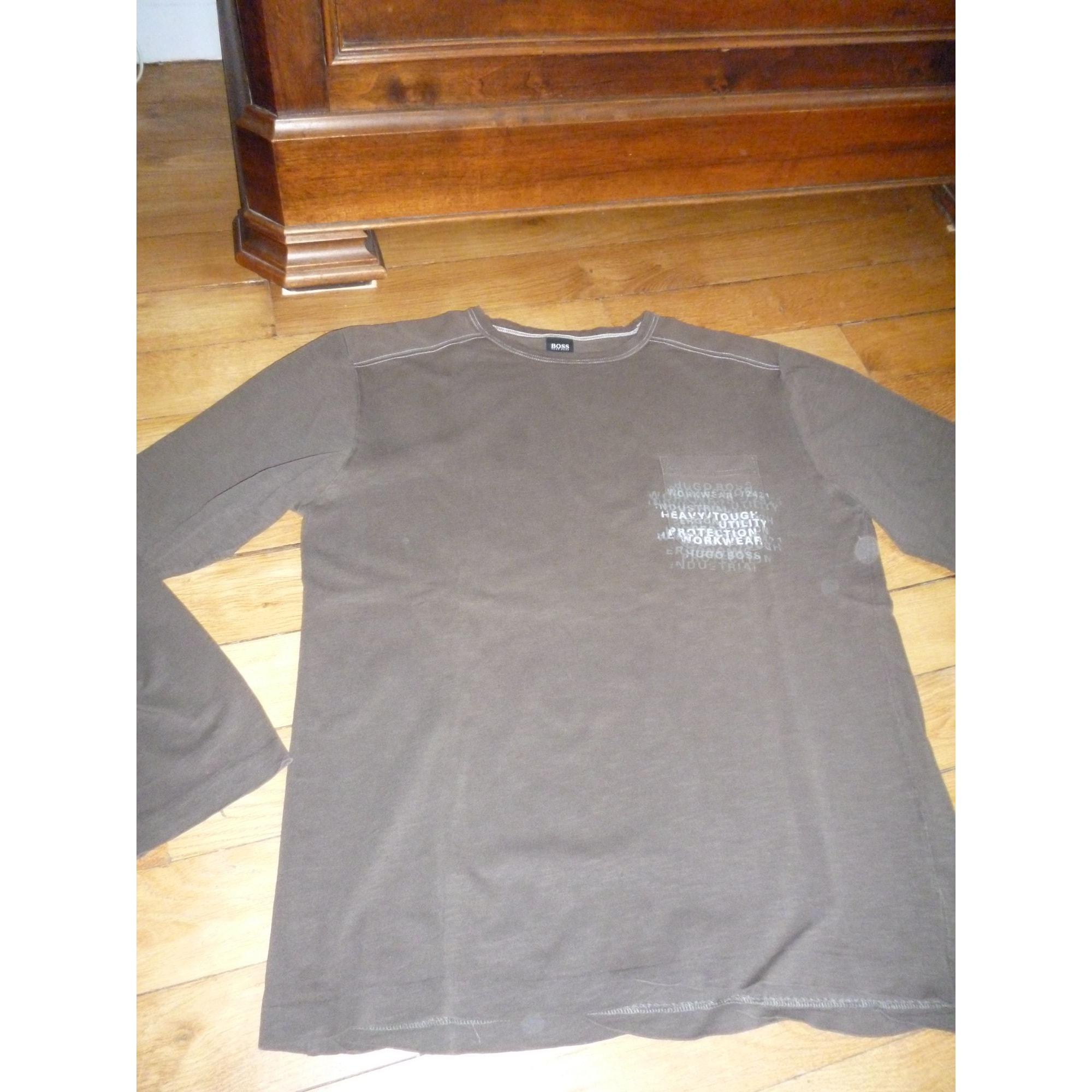 Tee-shirt HUGO BOSS Marron