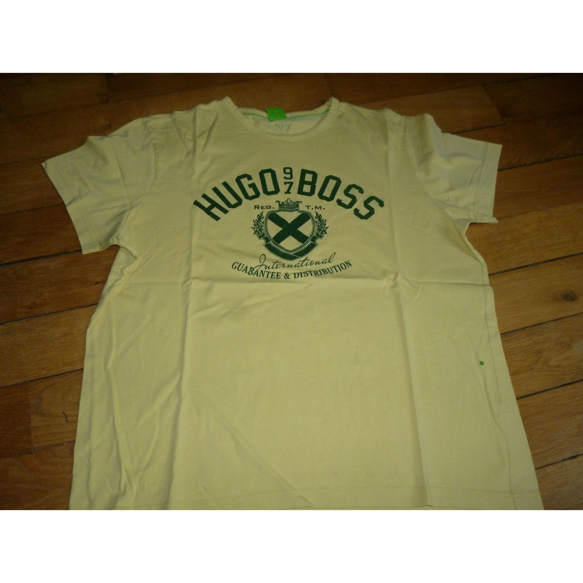 Tee-shirt HUGO BOSS Jaune