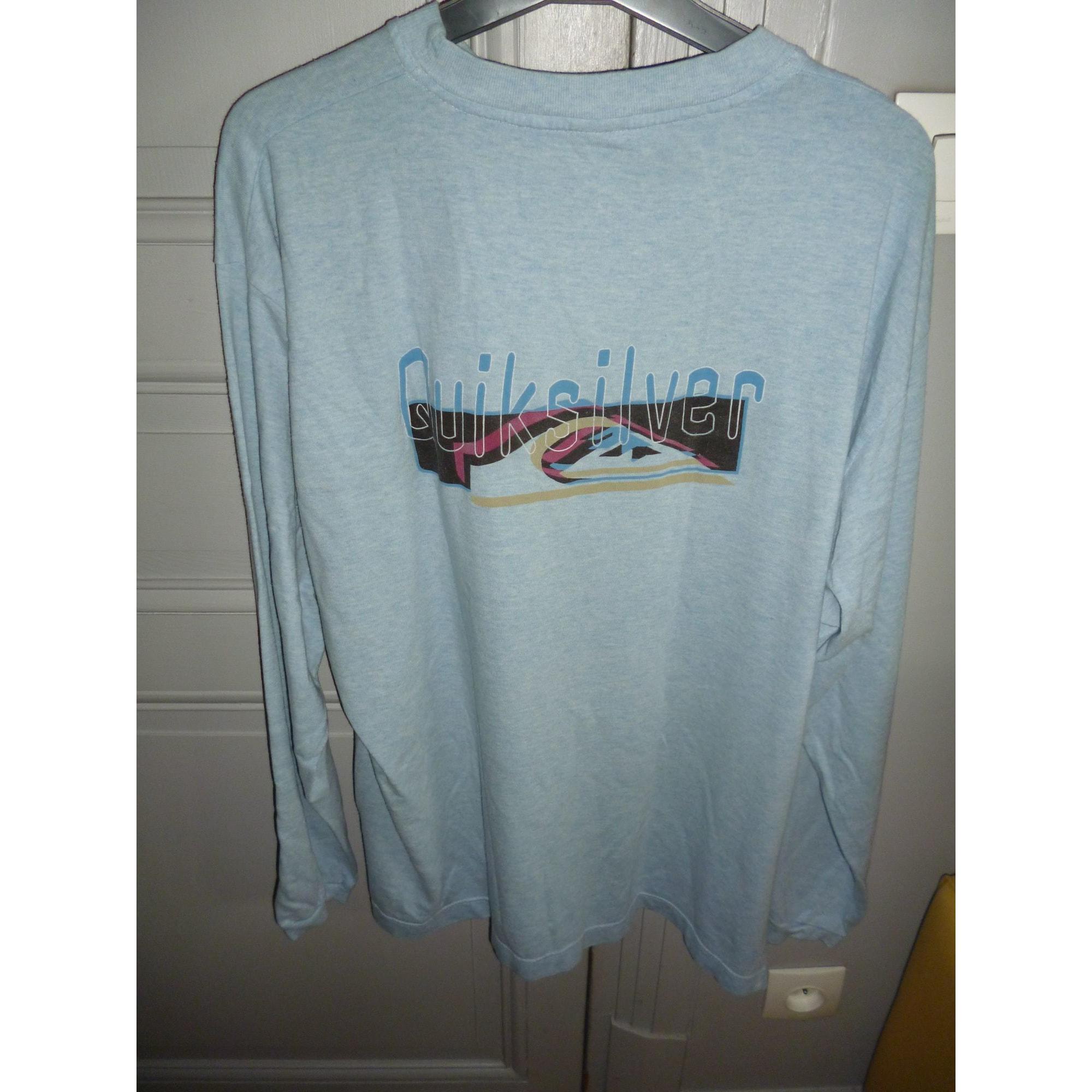 Tee-shirt QUIKSILVER Bleu, bleu marine, bleu turquoise