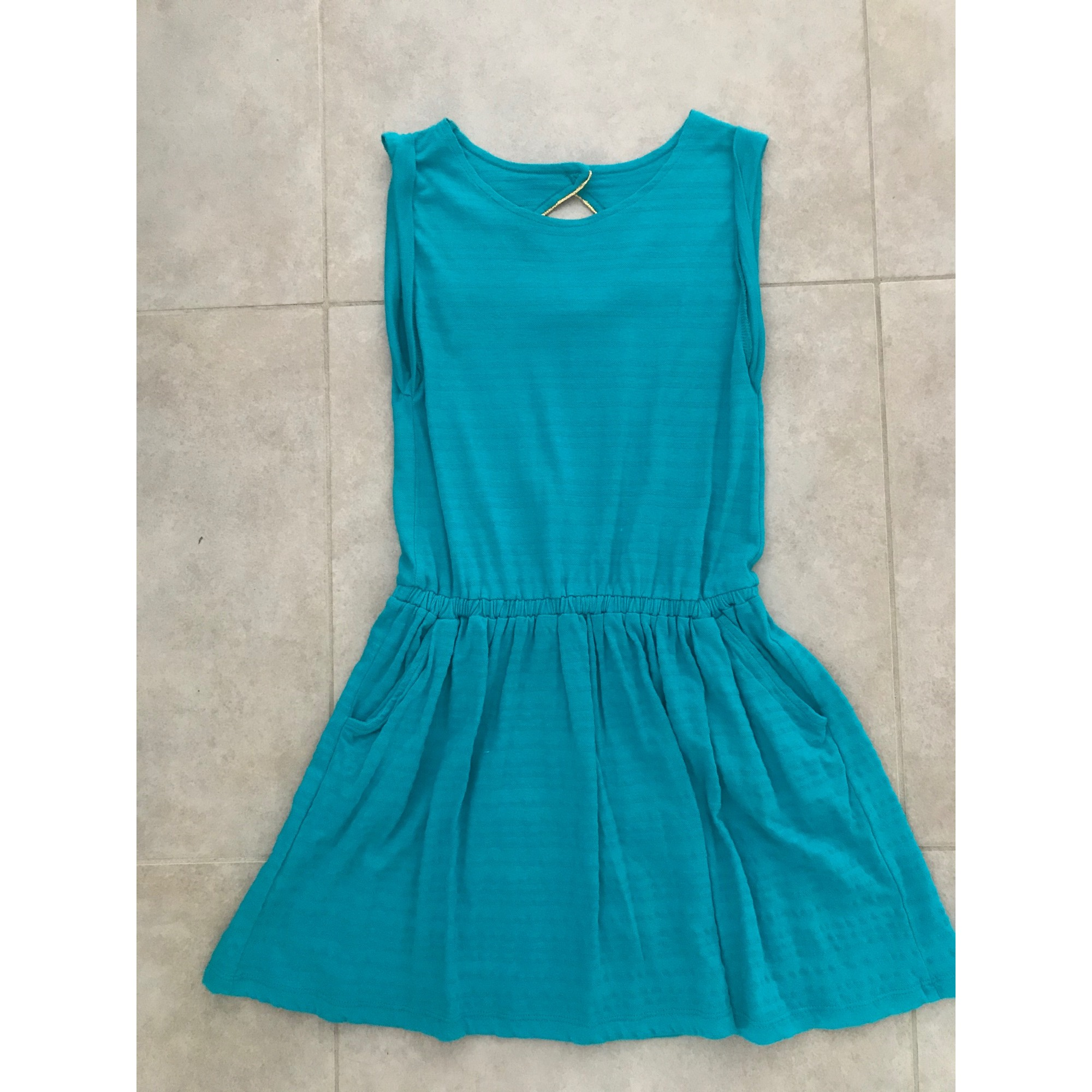 Robe KIABI Bleu, bleu marine, bleu turquoise