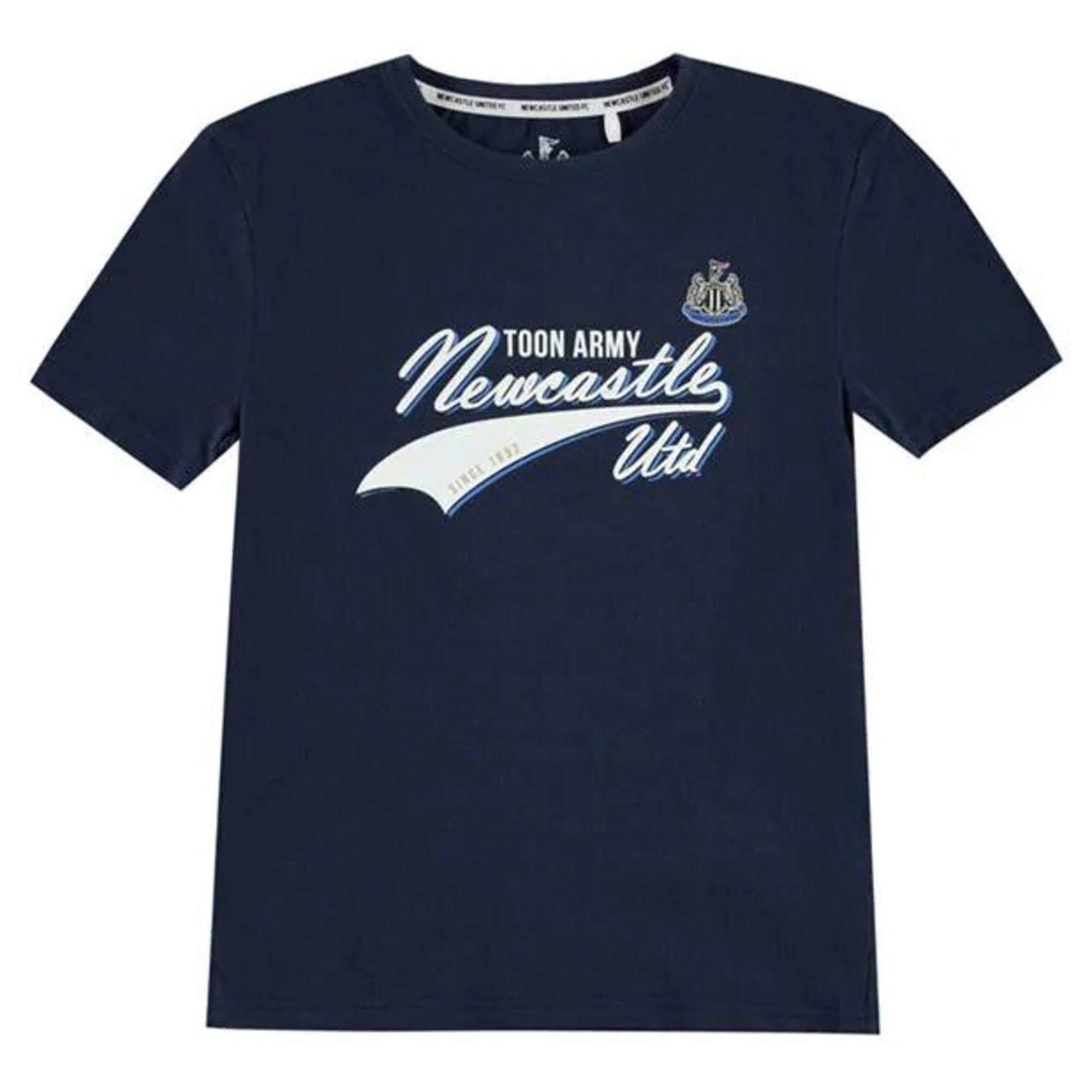 Tee-shirt NEW CASTLE UTD Bleu, bleu marine, bleu turquoise