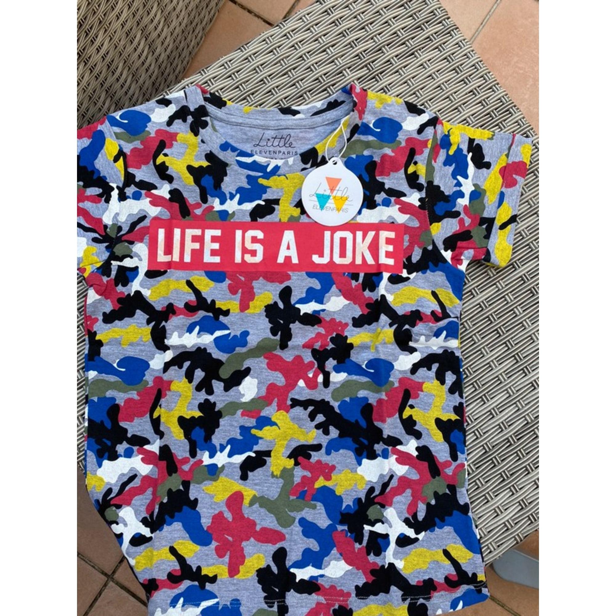 Tee-shirt LITTLE ELEVEN PARIS Multicouleur