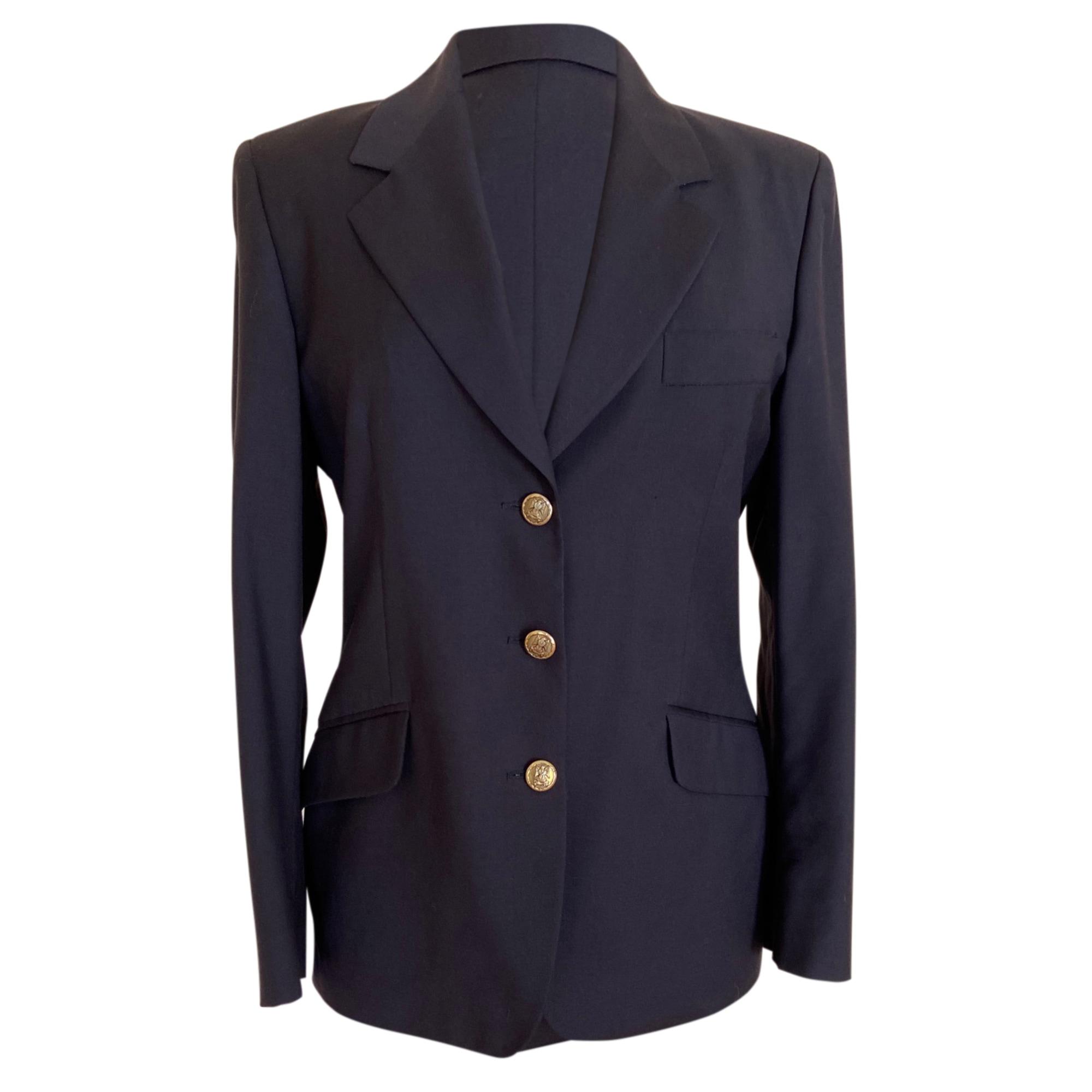 Blazer, veste tailleur HENRY COTTON'S Bleu, bleu marine, bleu turquoise