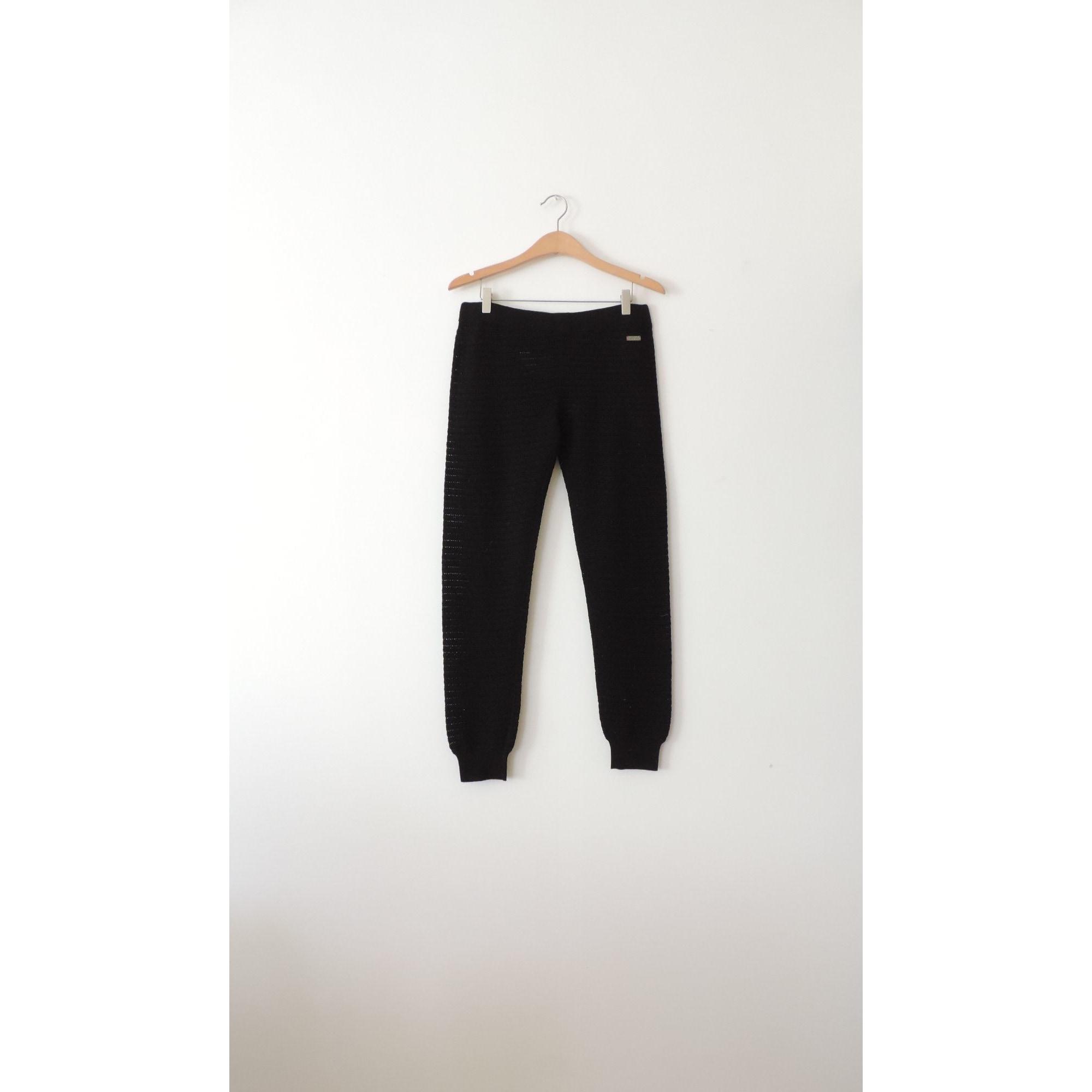 Pantalon slim, cigarette WHO'S WHO Noir