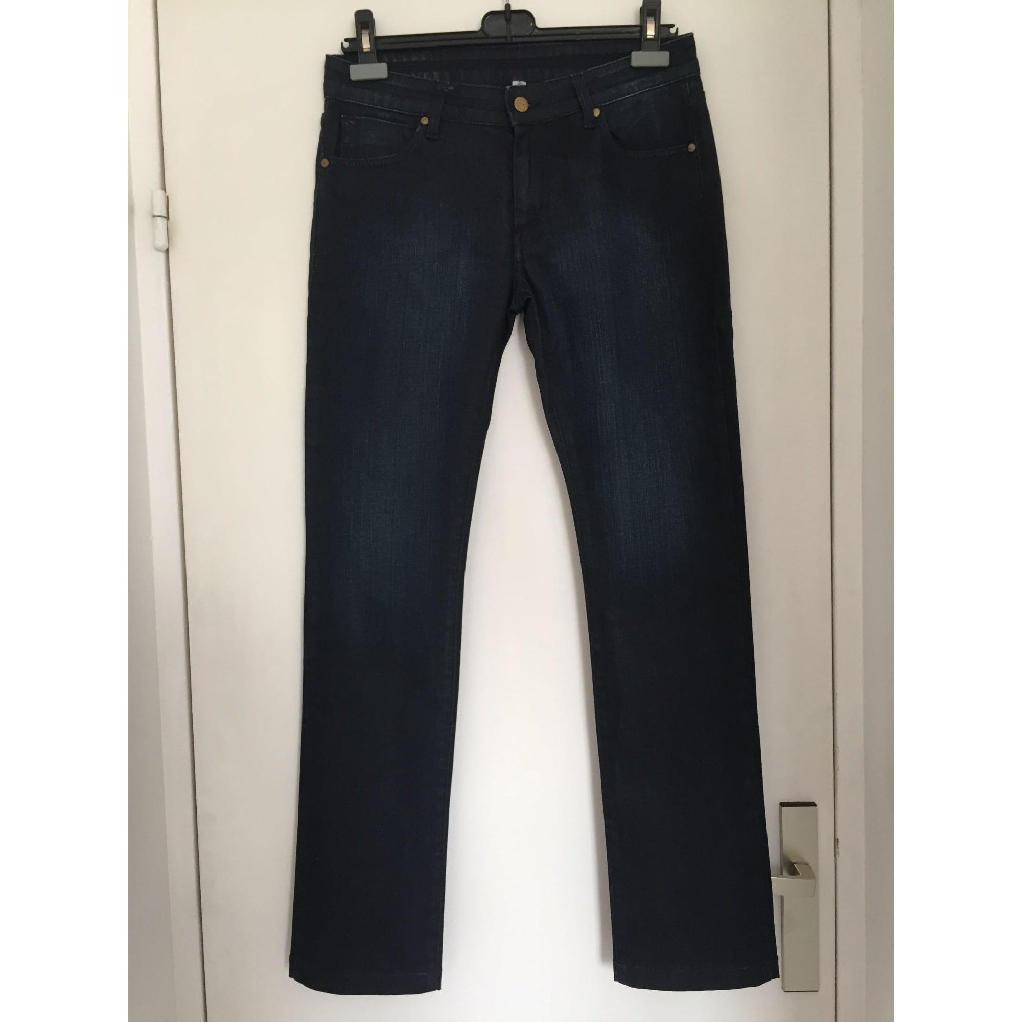 Jeans droit ACQUAVERDE Bleu, bleu marine, bleu turquoise