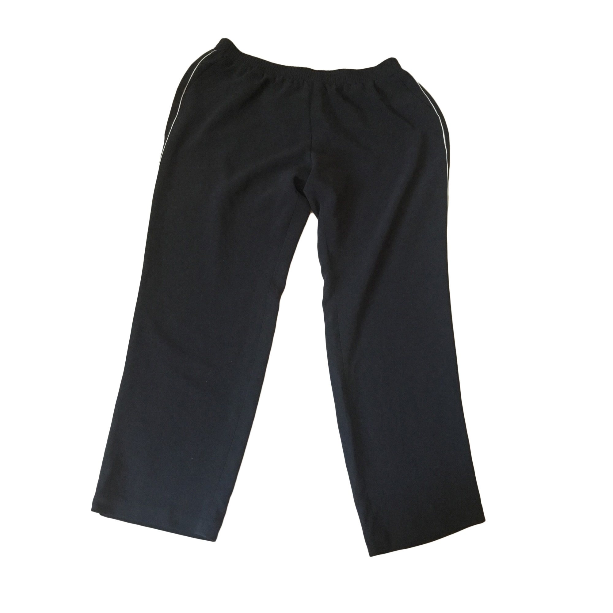 Pantalon droit ELENA MIRO Bleu, bleu marine, bleu turquoise