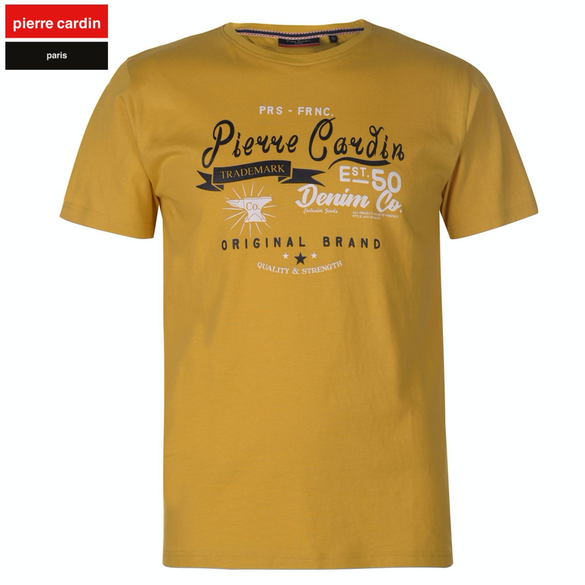 Tee-shirt PIERRE CARDIN Jaune
