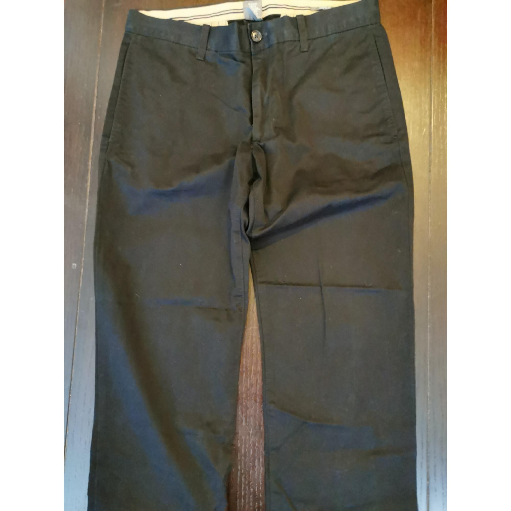Pantalon slim H&M Noir