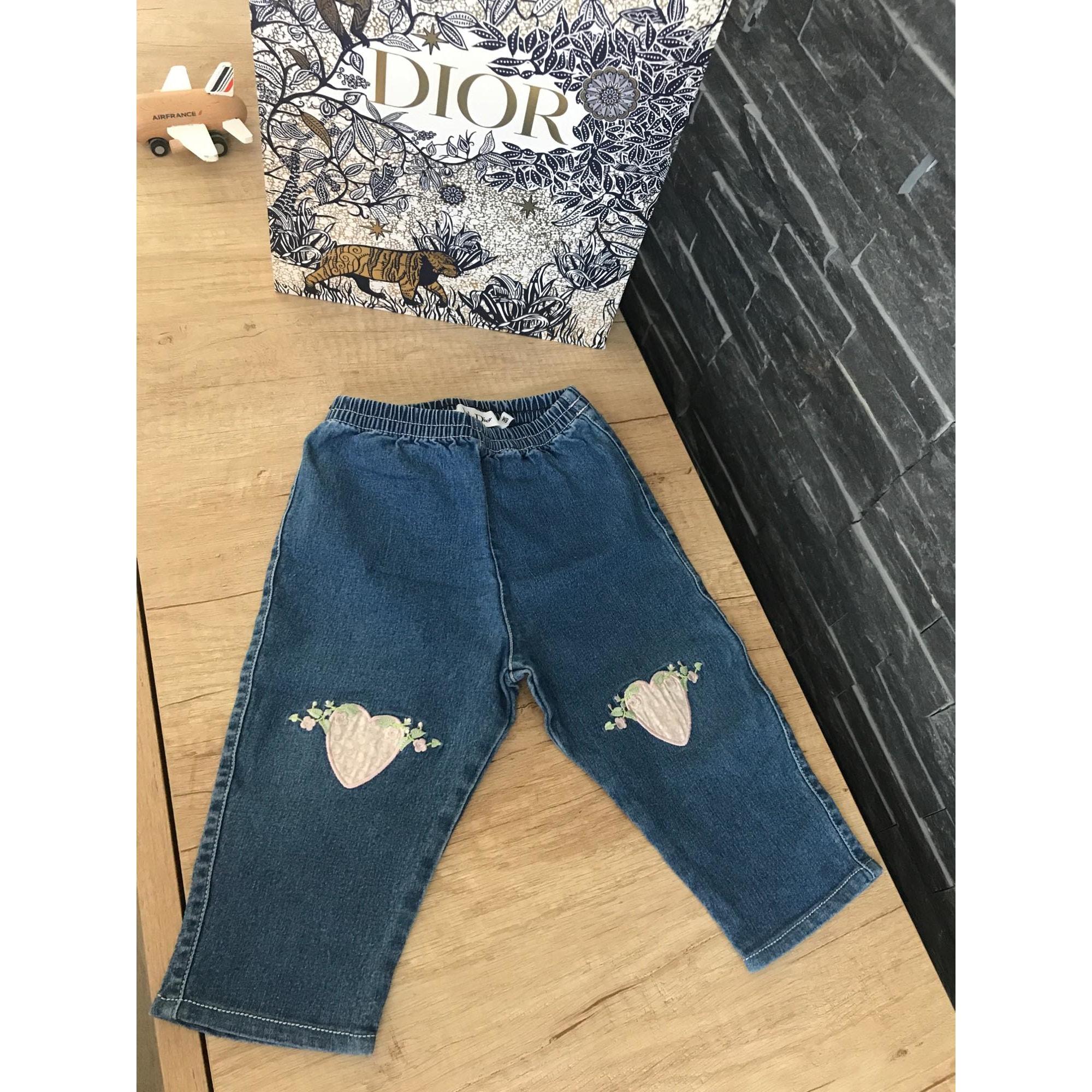 Pantalon DIOR Bleu, bleu marine, bleu turquoise