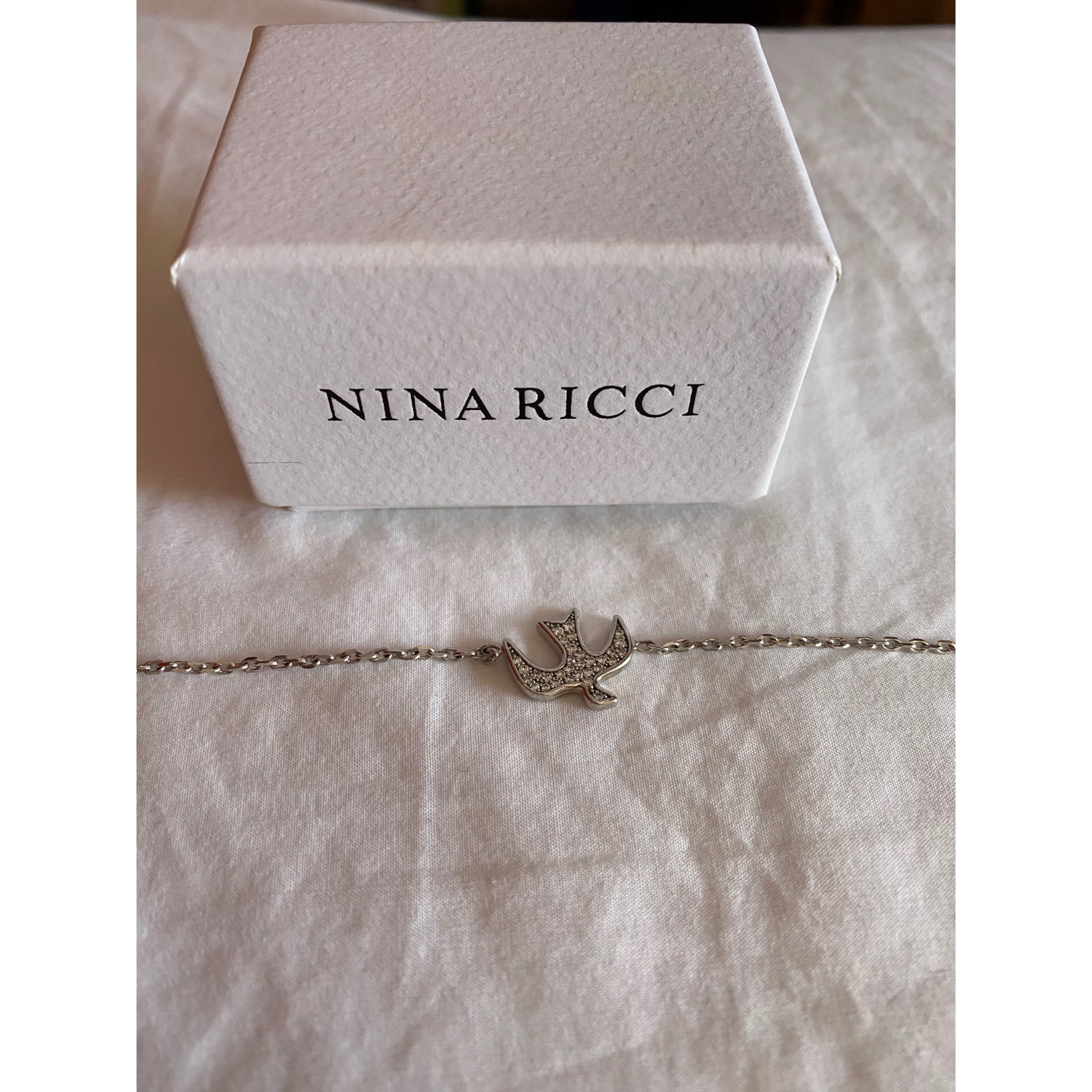 Bracelet NINA RICCI Argenté, acier
