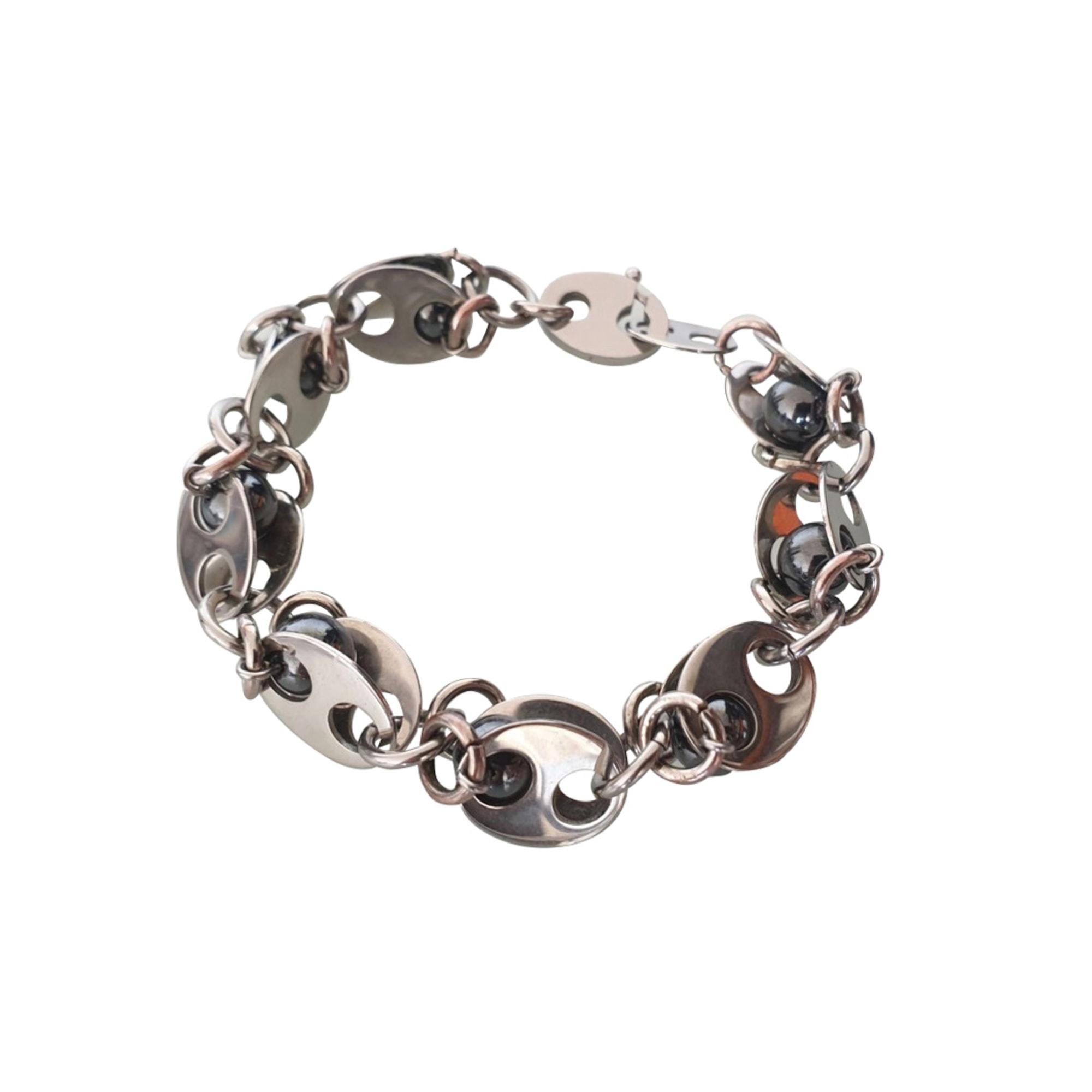 Bracelet PACO RABANNE Argenté, acier
