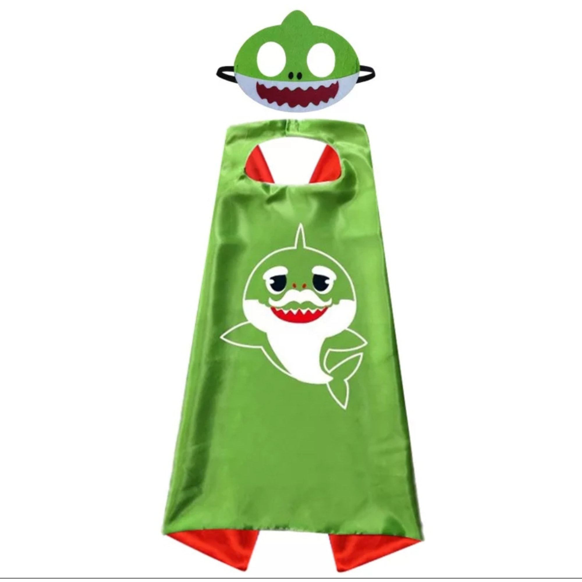 Costume BABY SHARK Green