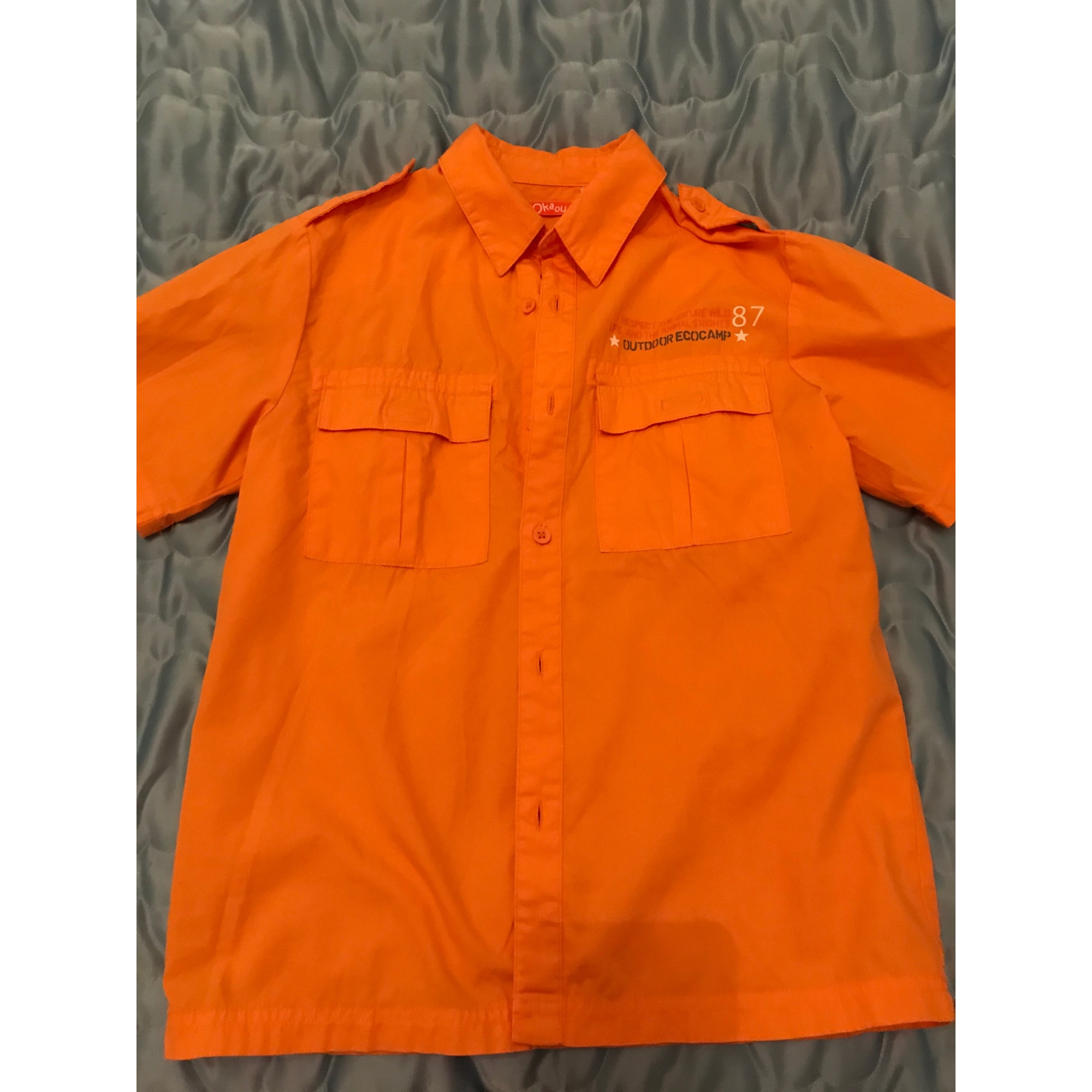 Chemisette OKAOU Orange