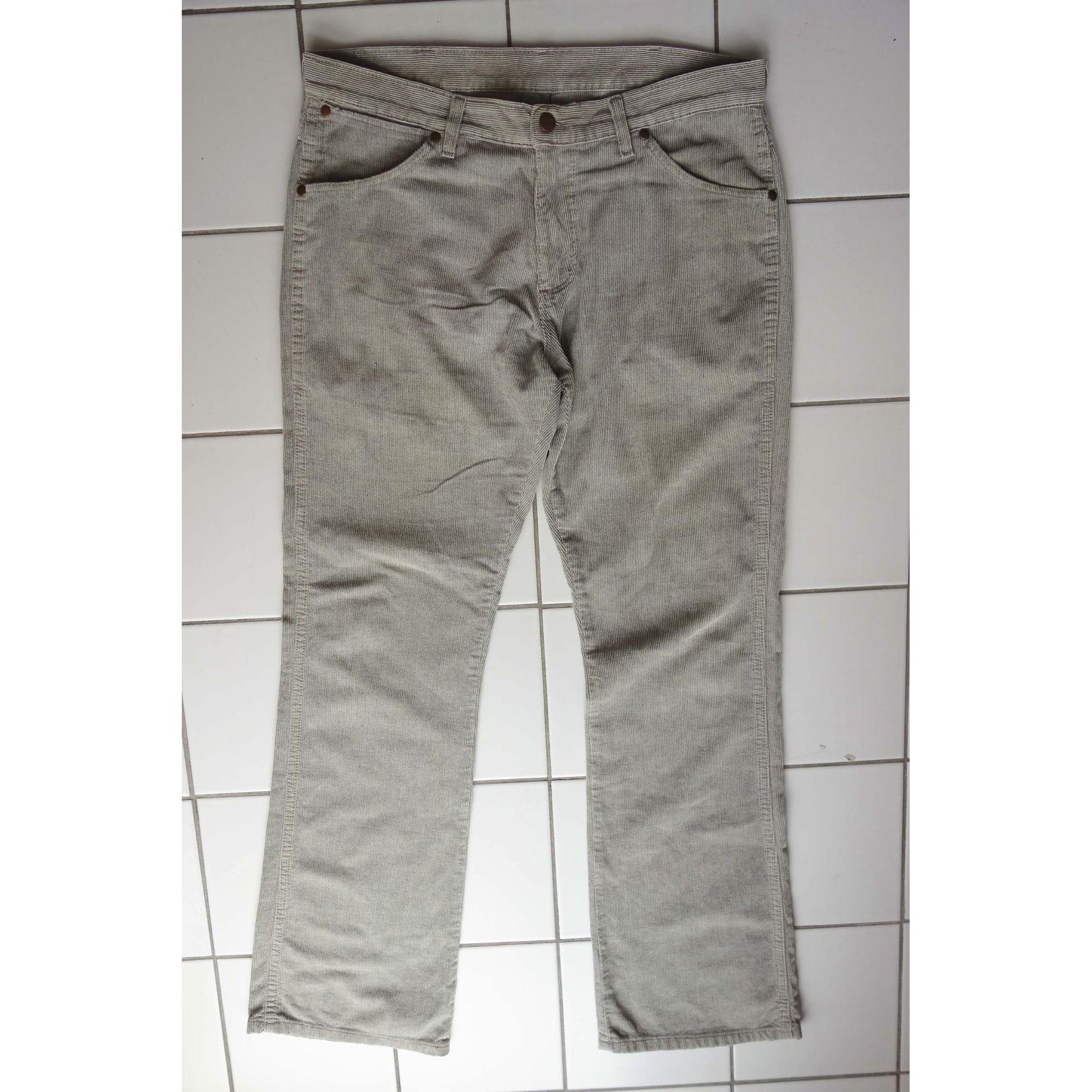 Jeans évasé, boot-cut WRANGLER Gris, anthracite