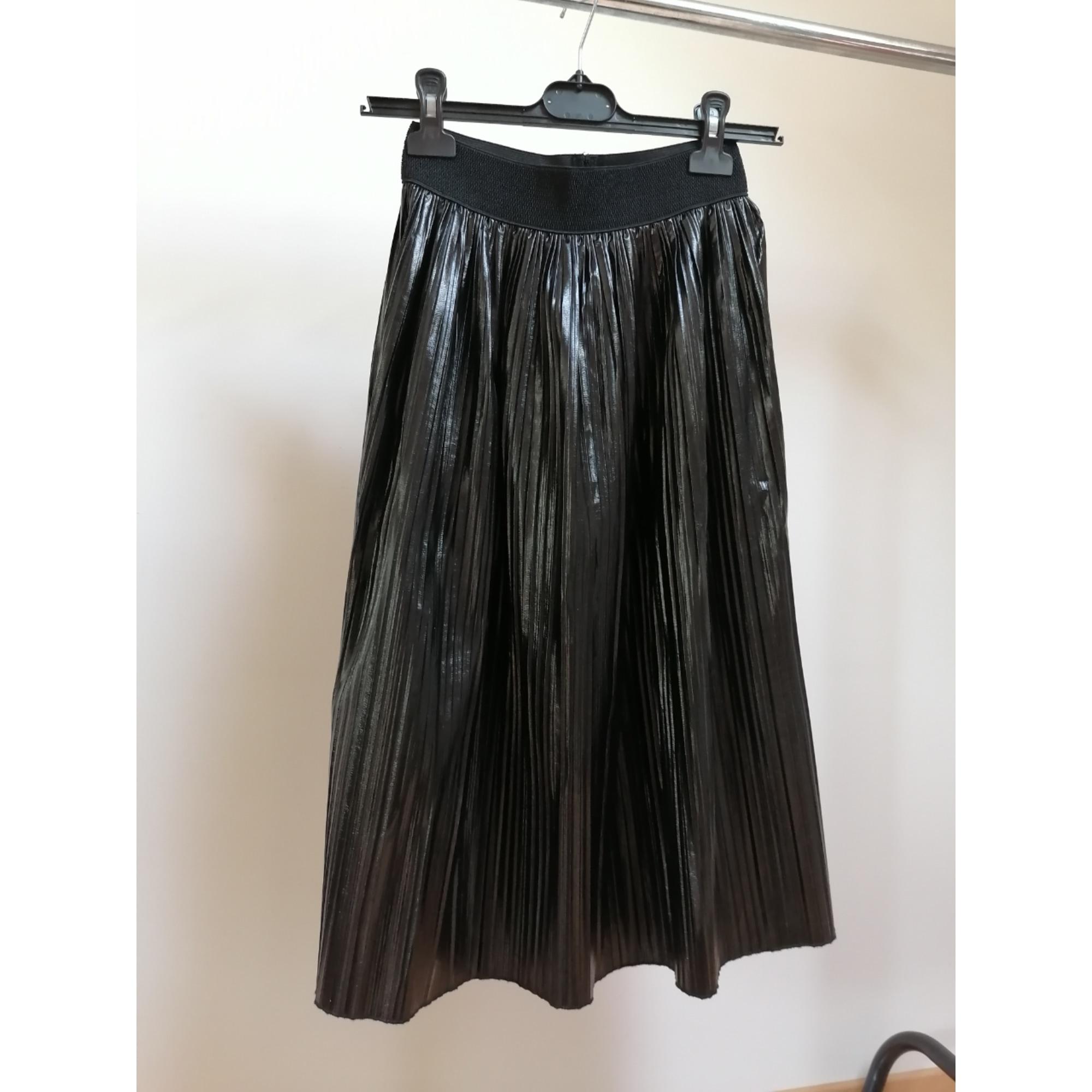 Jupe mi-longue ZARA Noir
