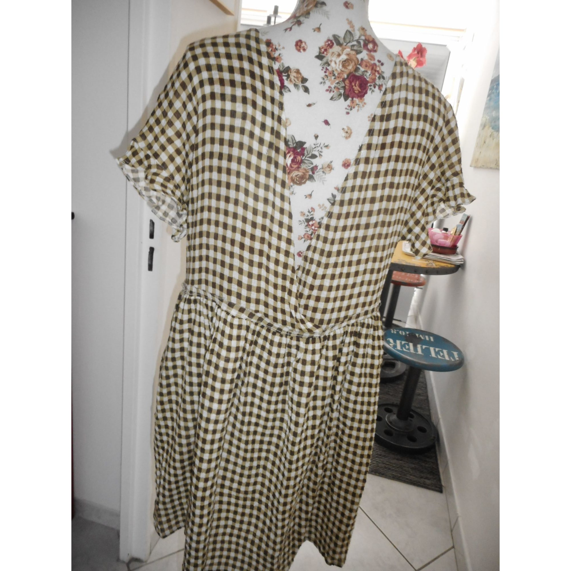Robe tunique AMERICAN VINTAGE Multicouleur