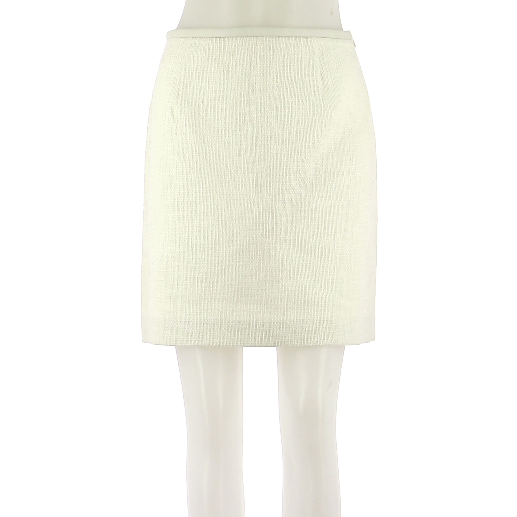 Jupe mi-longue TARA JARMON Blanc, blanc cassé, écru