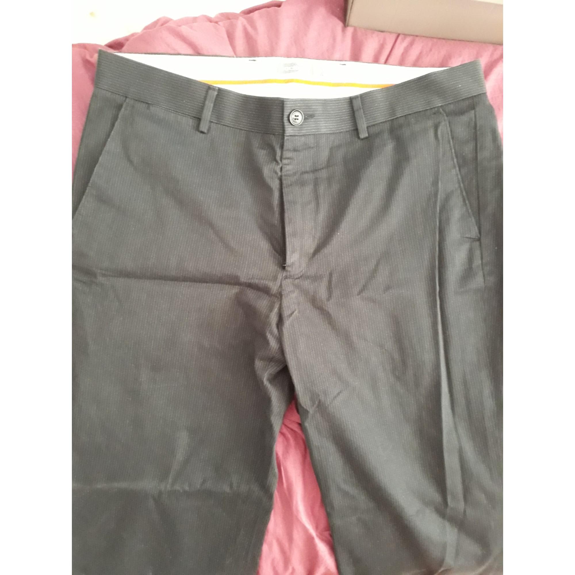 Straight Leg Pants DOCKERS Black