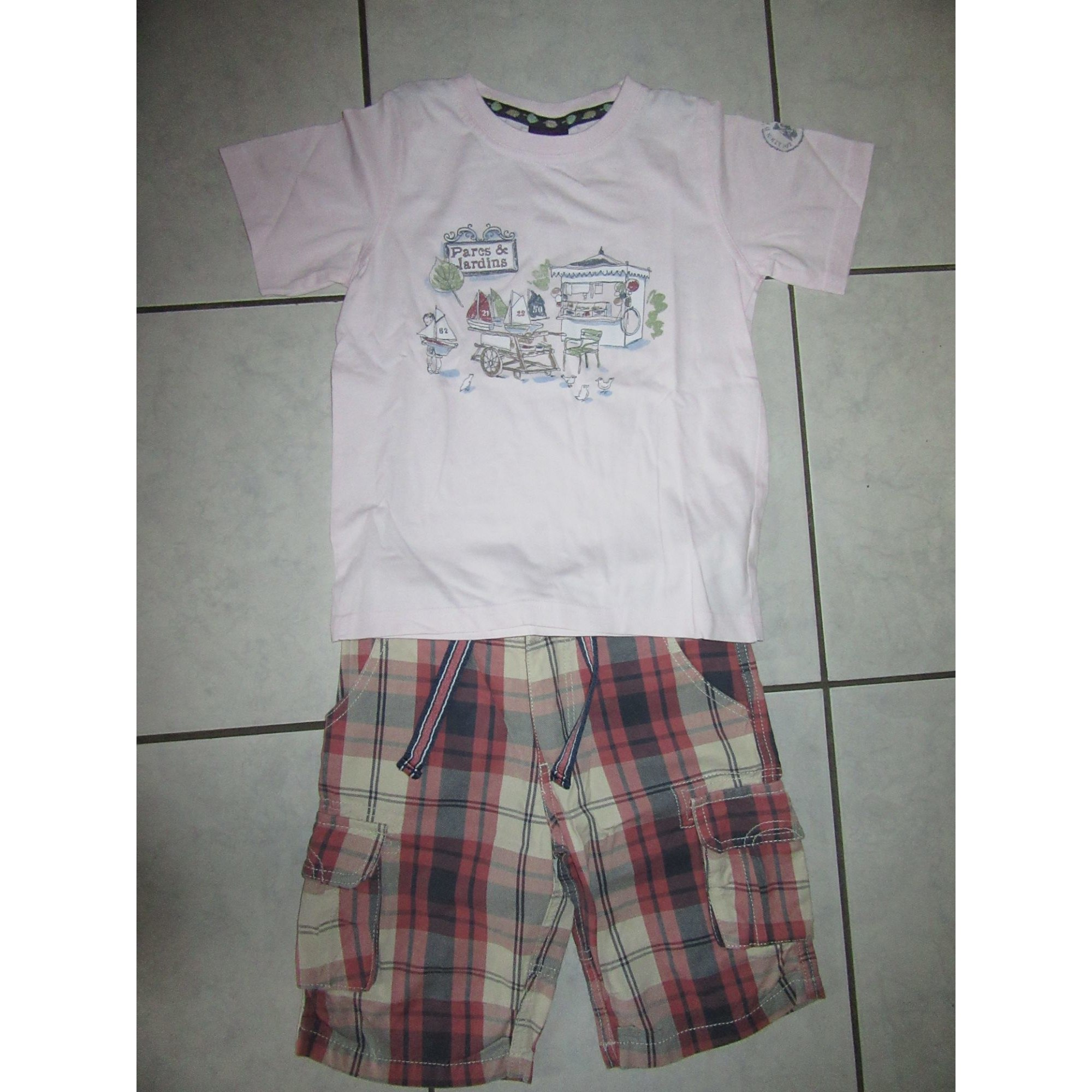 Shorts Set, Outfit SERGENT MAJOR Pink, fuchsia, light pink