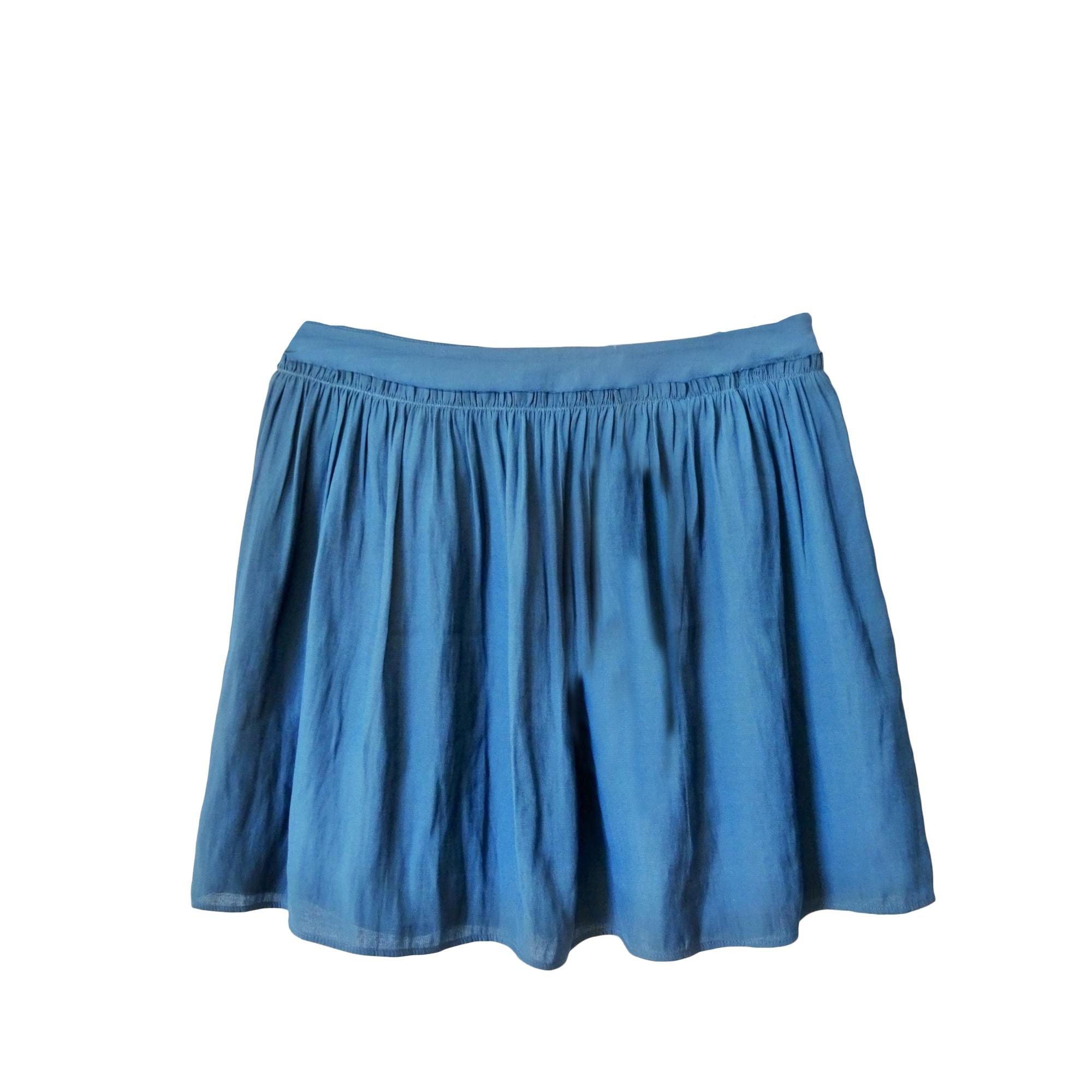 Jupe courte ZADIG & VOLTAIRE Bleu, bleu marine, bleu turquoise