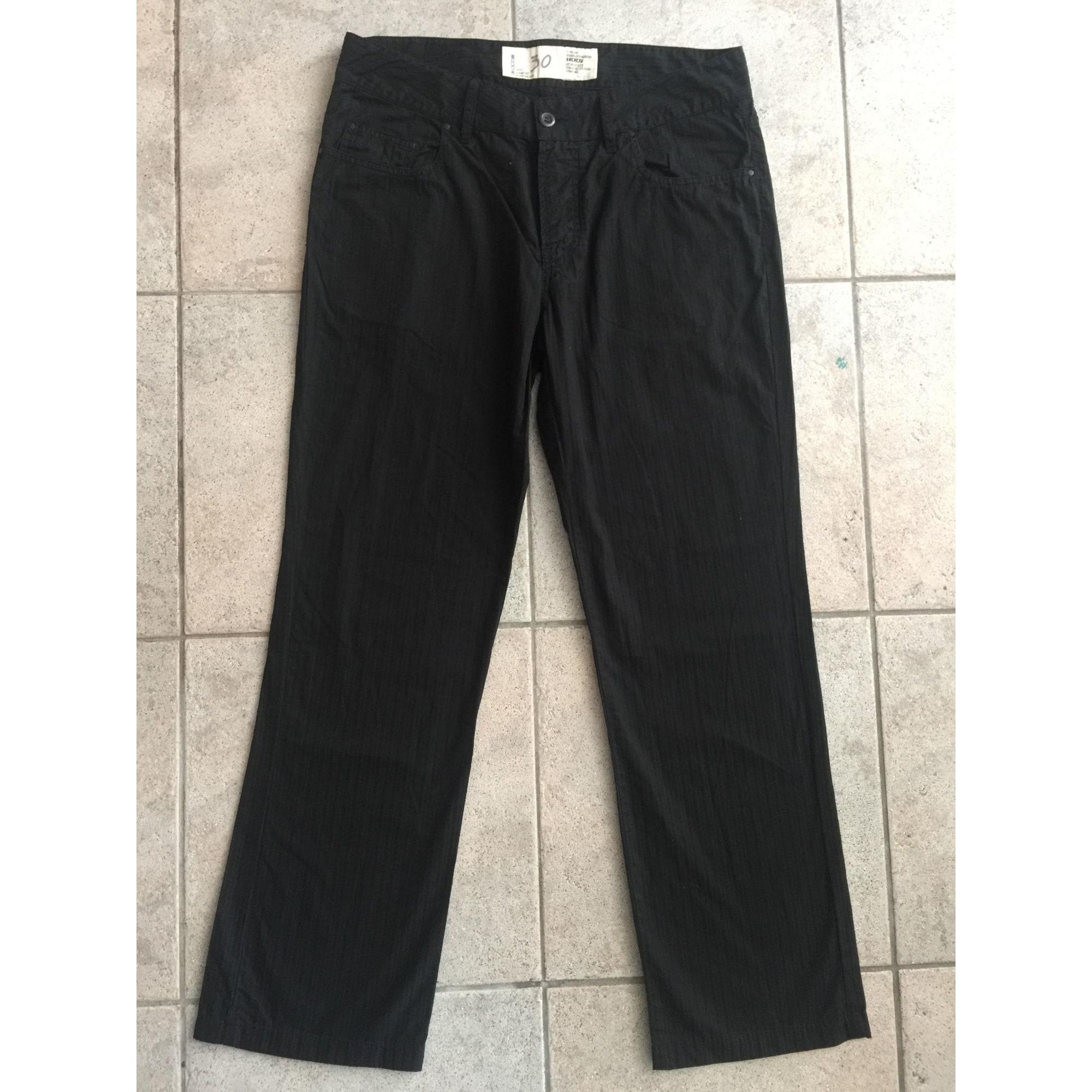 Pantalon droit IKKS Noir