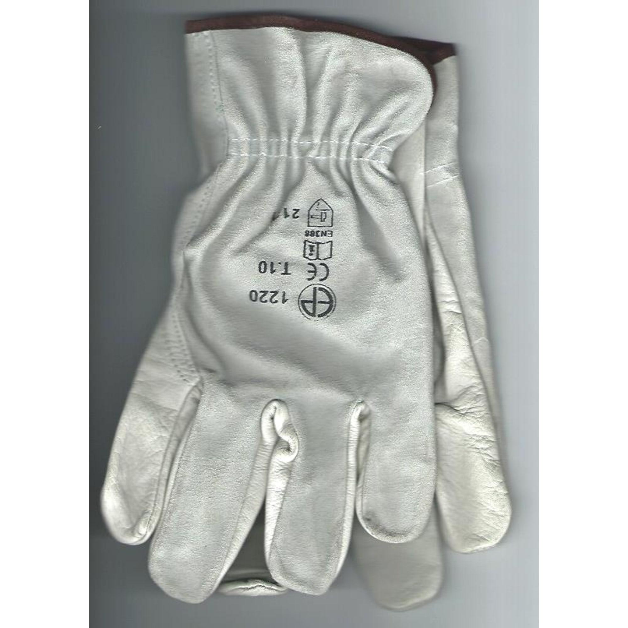 Handschuhe ERGOS Weiß, elfenbeinfarben