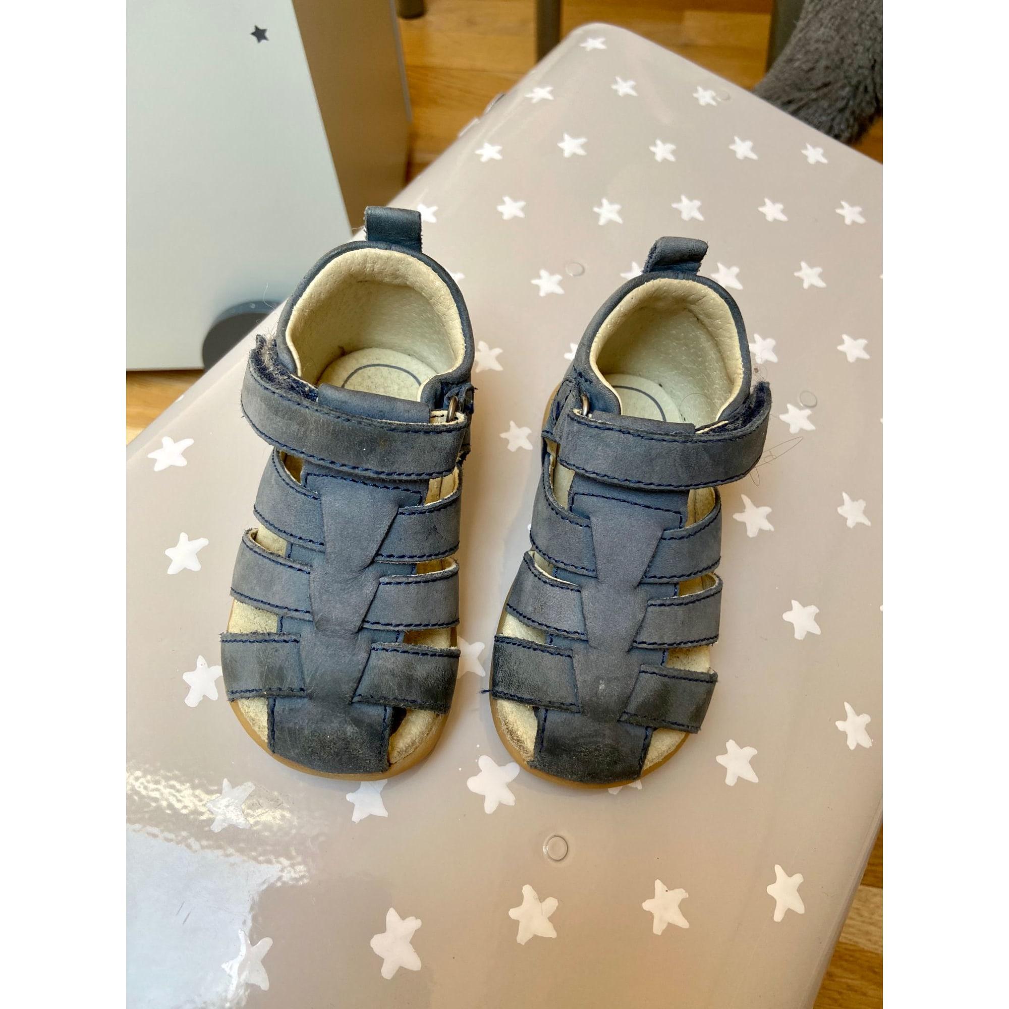 Sandales VERTBAUDET Bleu, bleu marine, bleu turquoise