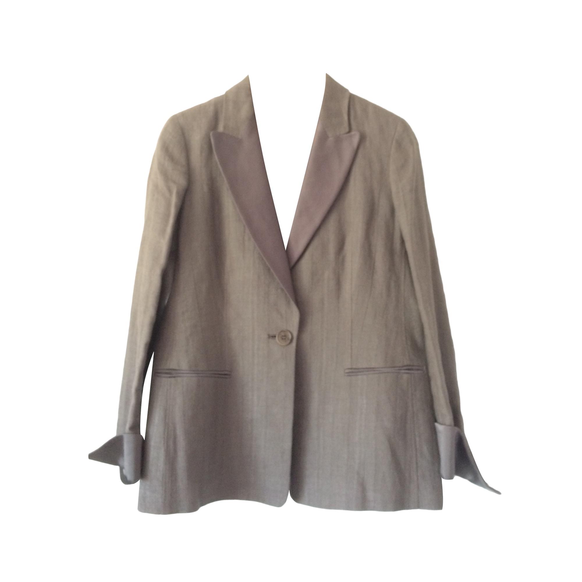Tailleur pantalon APOSTROPHE Marron