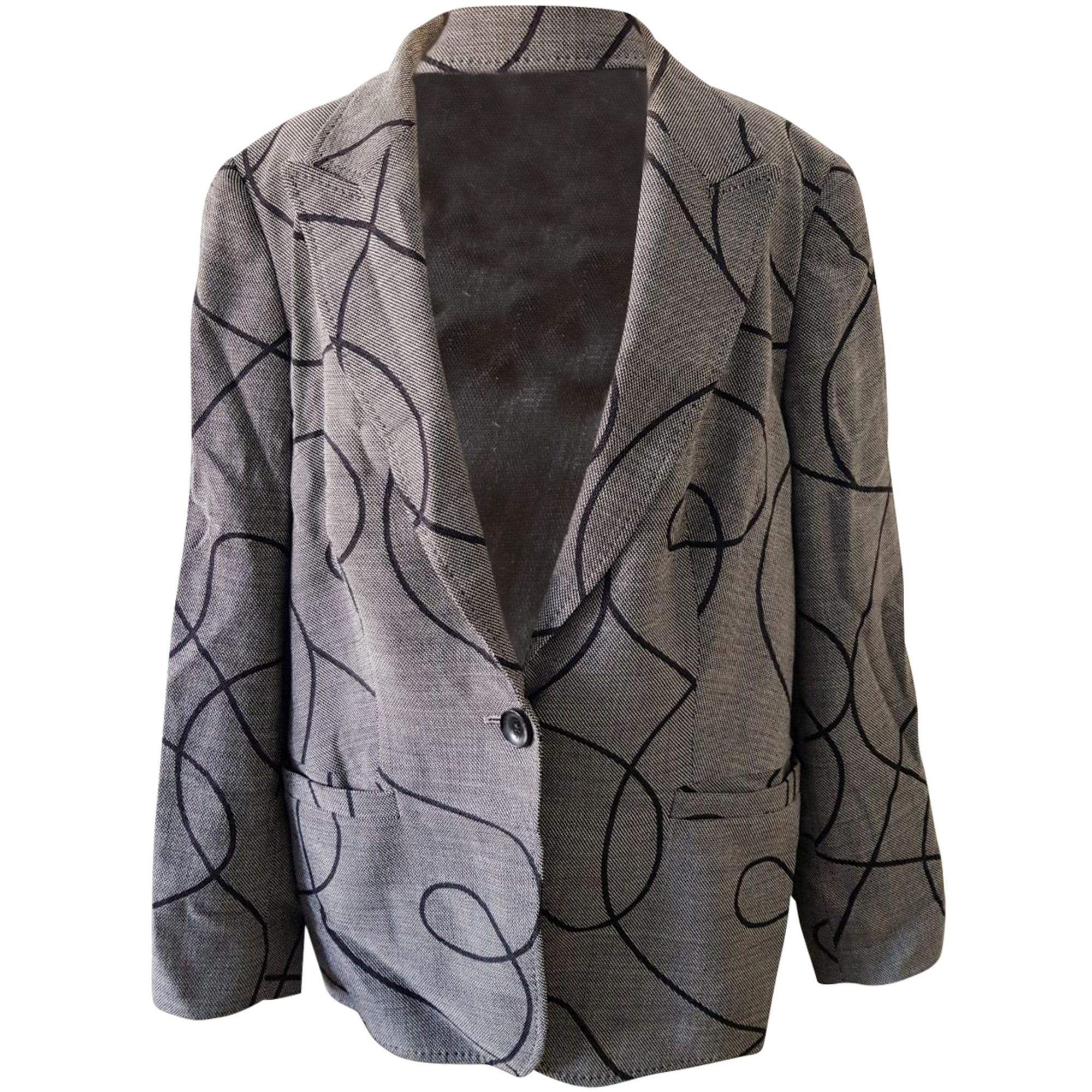 Blazer, veste tailleur ESCADA Gris, anthracite