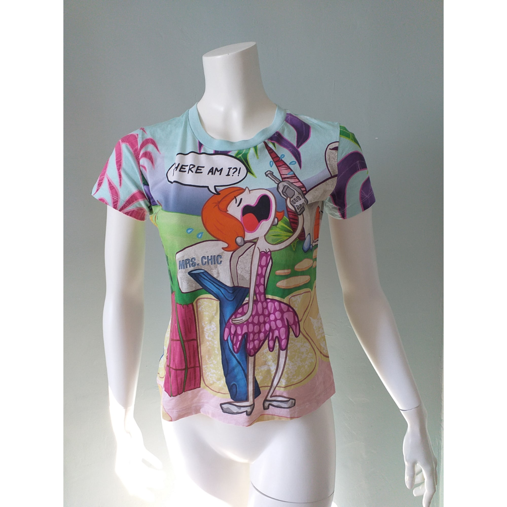Top, tee-shirt MOSCHINO Multicouleur