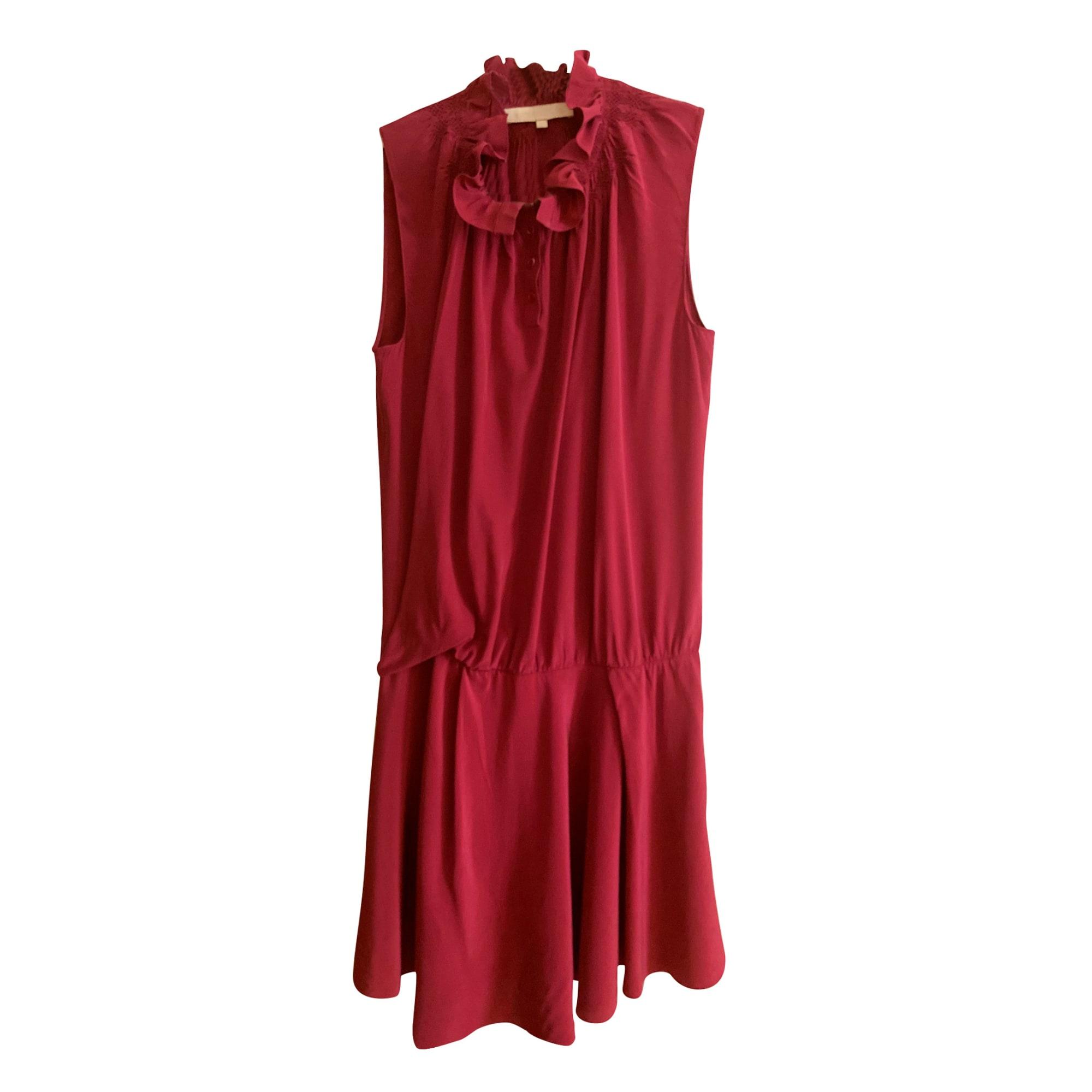 Robe mi-longue VANESSA BRUNO Rose, fuschia, vieux rose