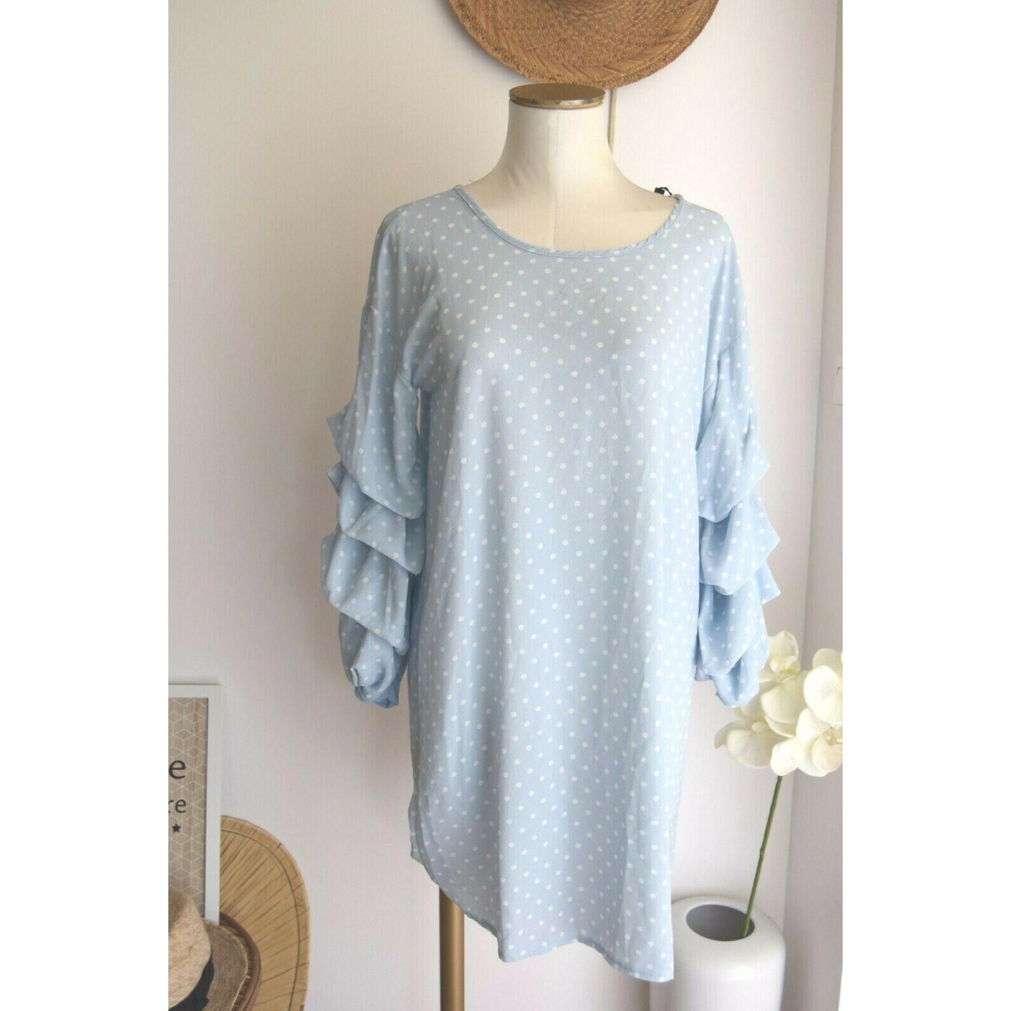 Robe mi-longue ALMATRICHI Bleu, bleu marine, bleu turquoise