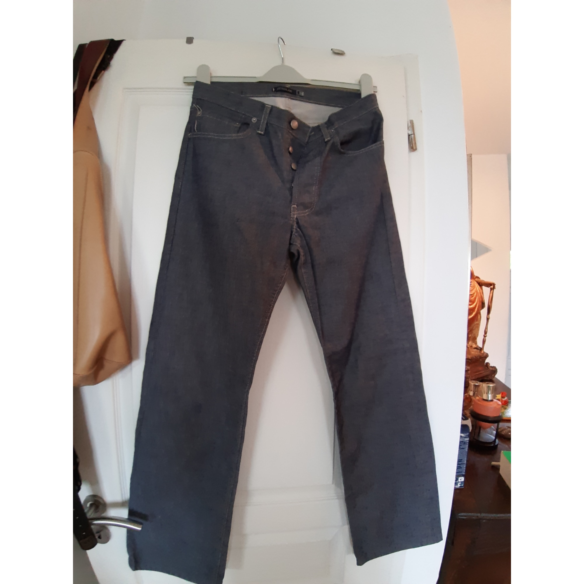 Pantalon droit TEDDY SMITH Bleu, bleu marine, bleu turquoise