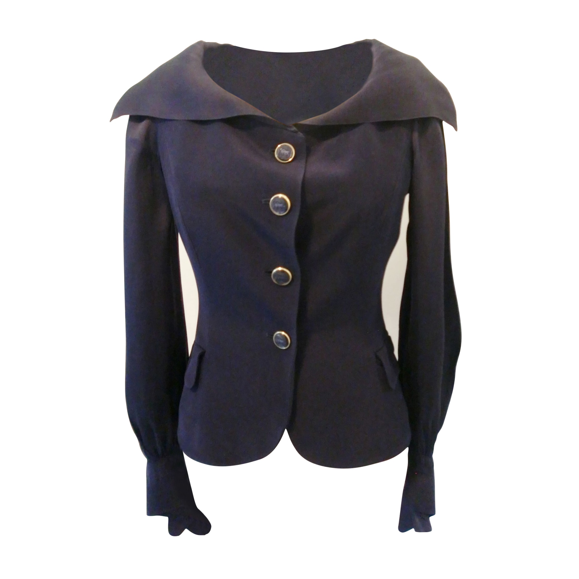 Blazer, veste tailleur ESCADA Bleu, bleu marine, bleu turquoise