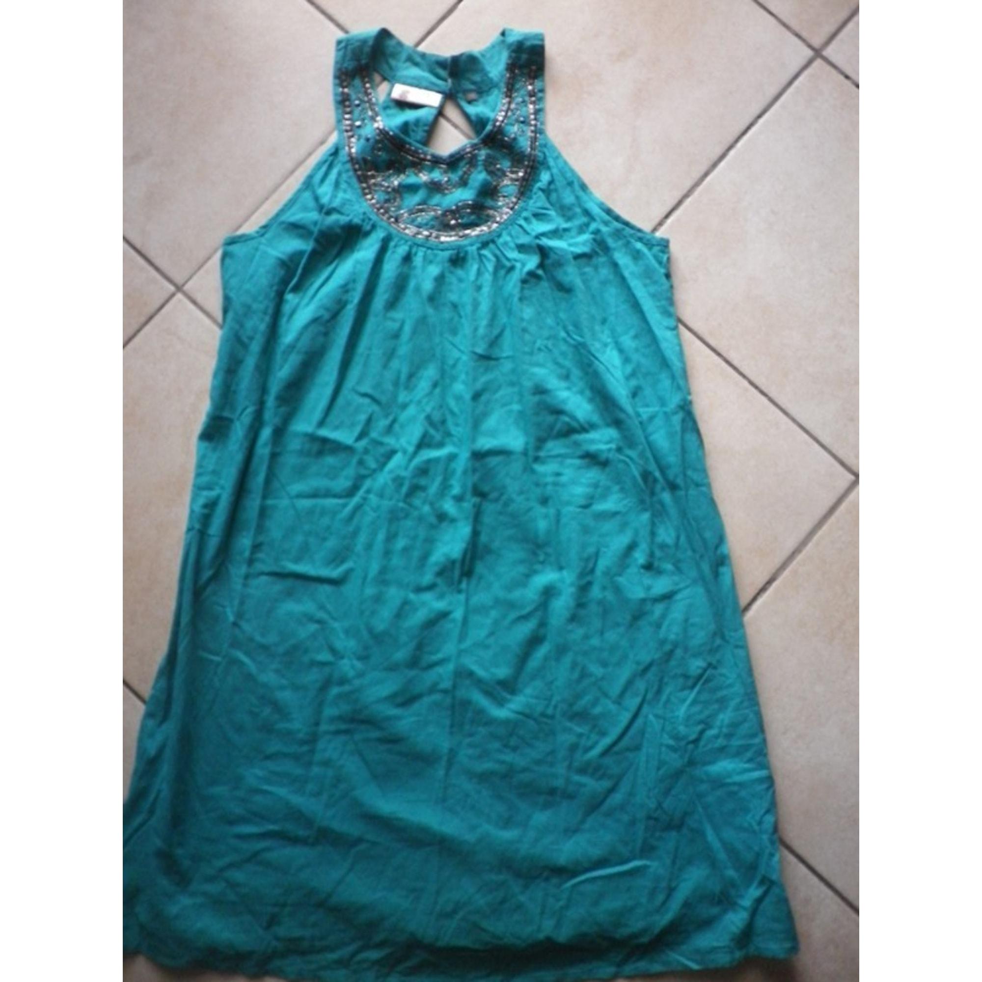 Robe courte MARQUE INCONNUE Vert