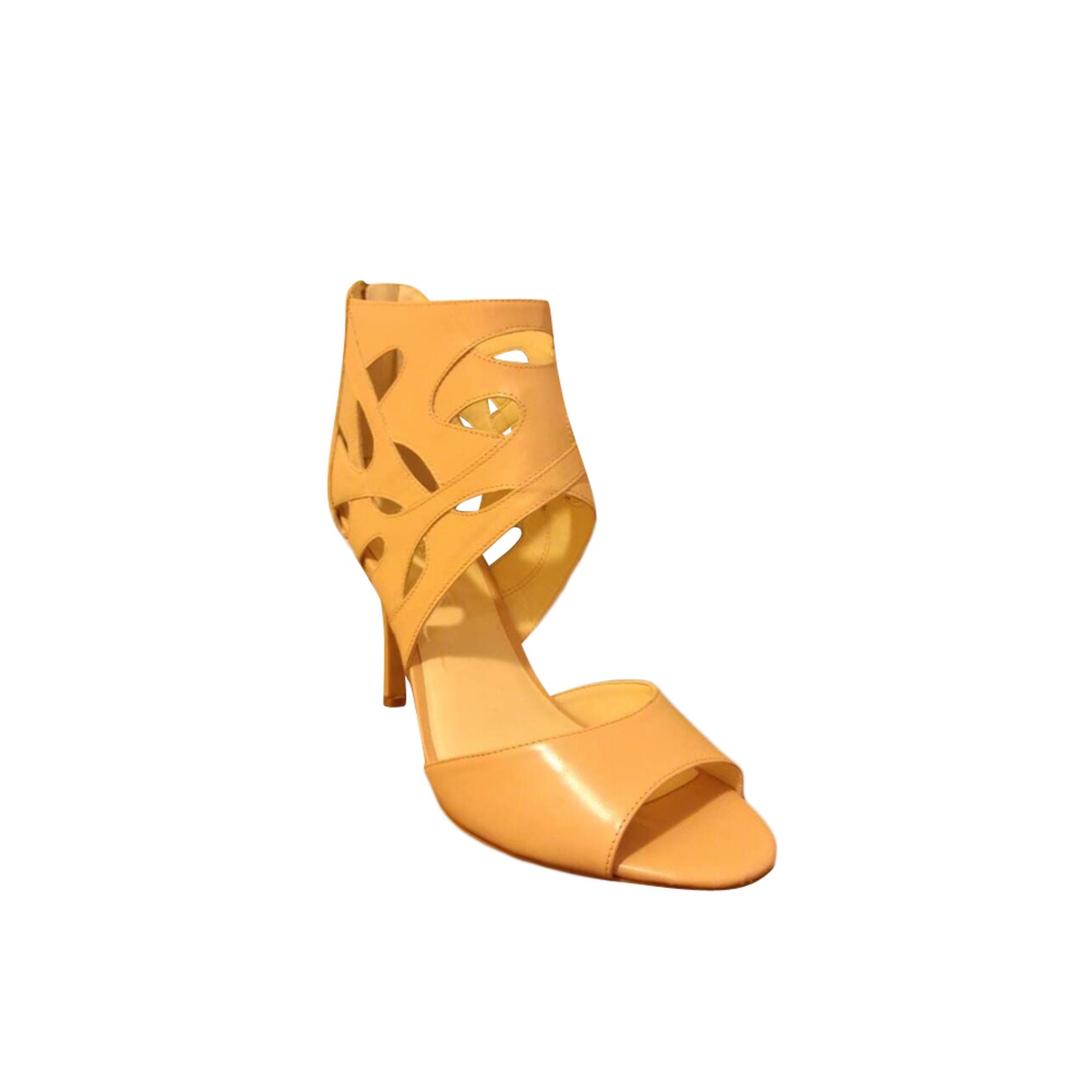 Sandales à talons NINE WEST Beige, camel