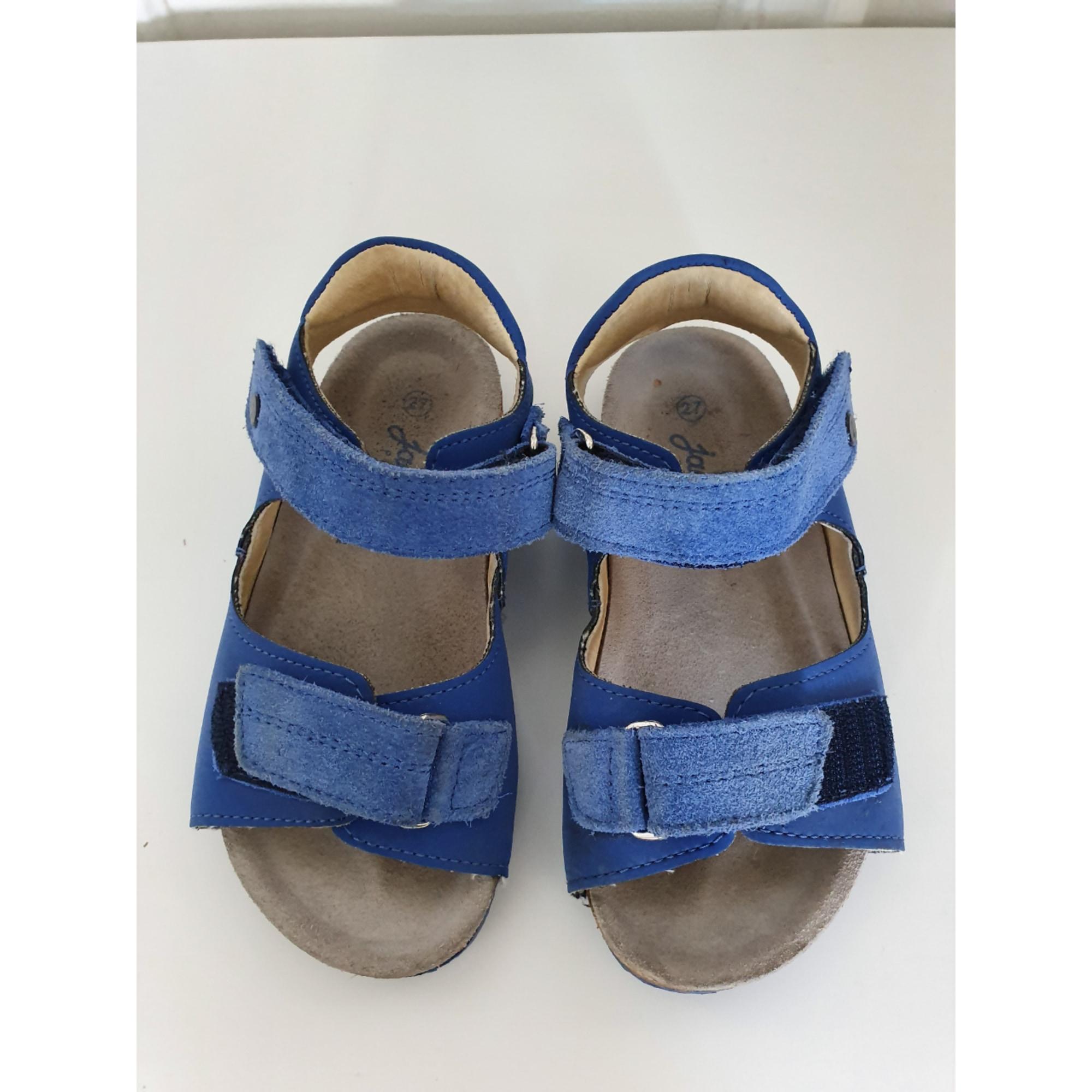 Sandales JACADI Bleu, bleu marine, bleu turquoise