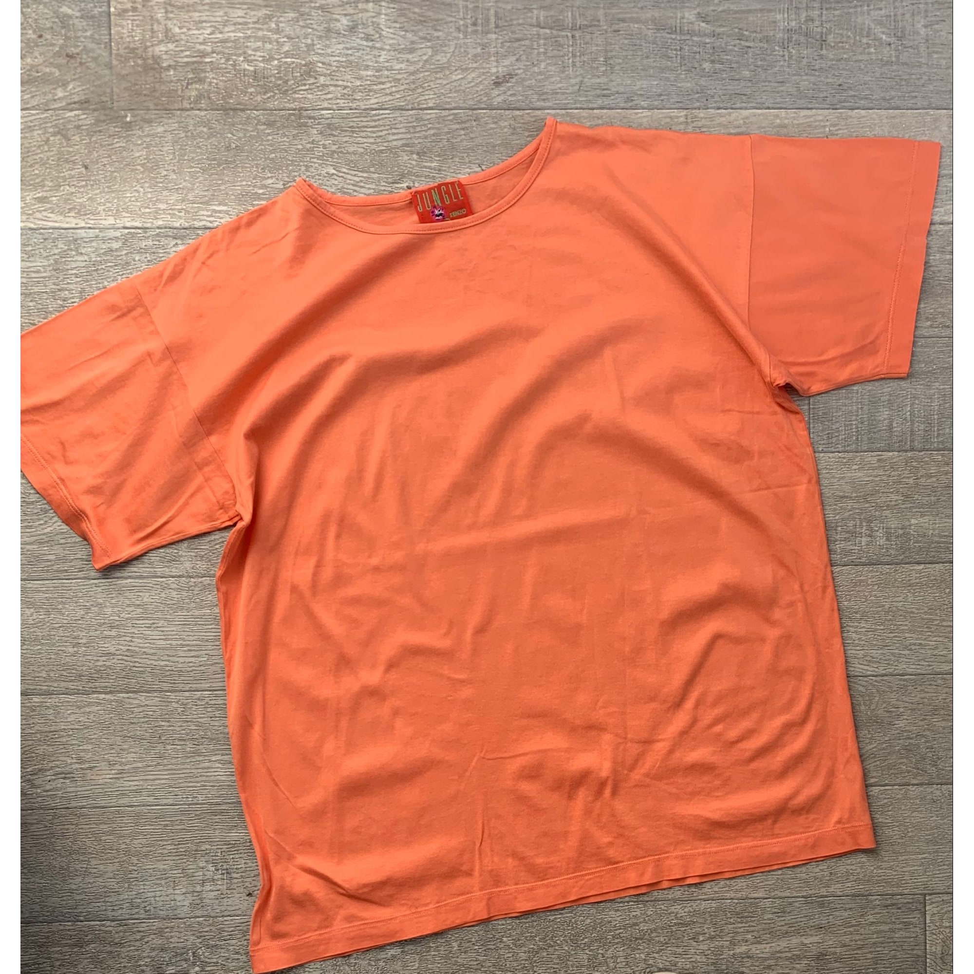 Top, tee-shirt KENZO Orange