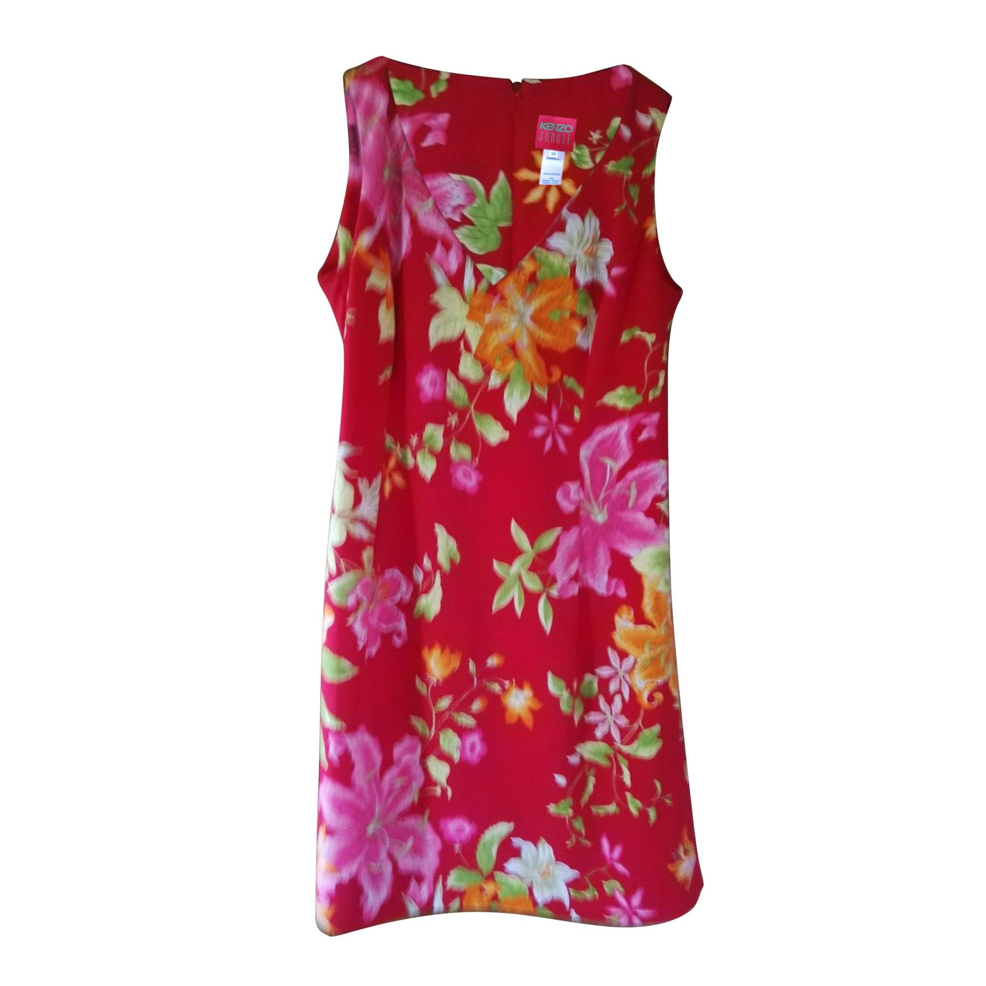 Robe courte KENZO Rose, fuschia, vieux rose