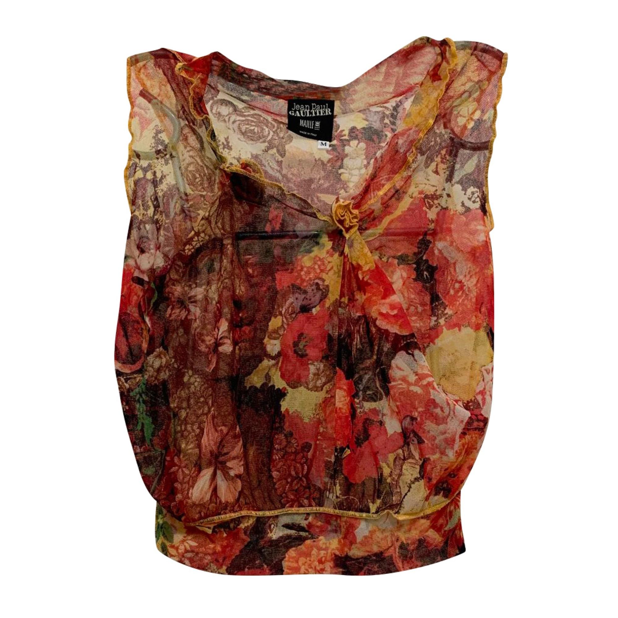 Top, tee-shirt JEAN PAUL GAULTIER Multicouleur