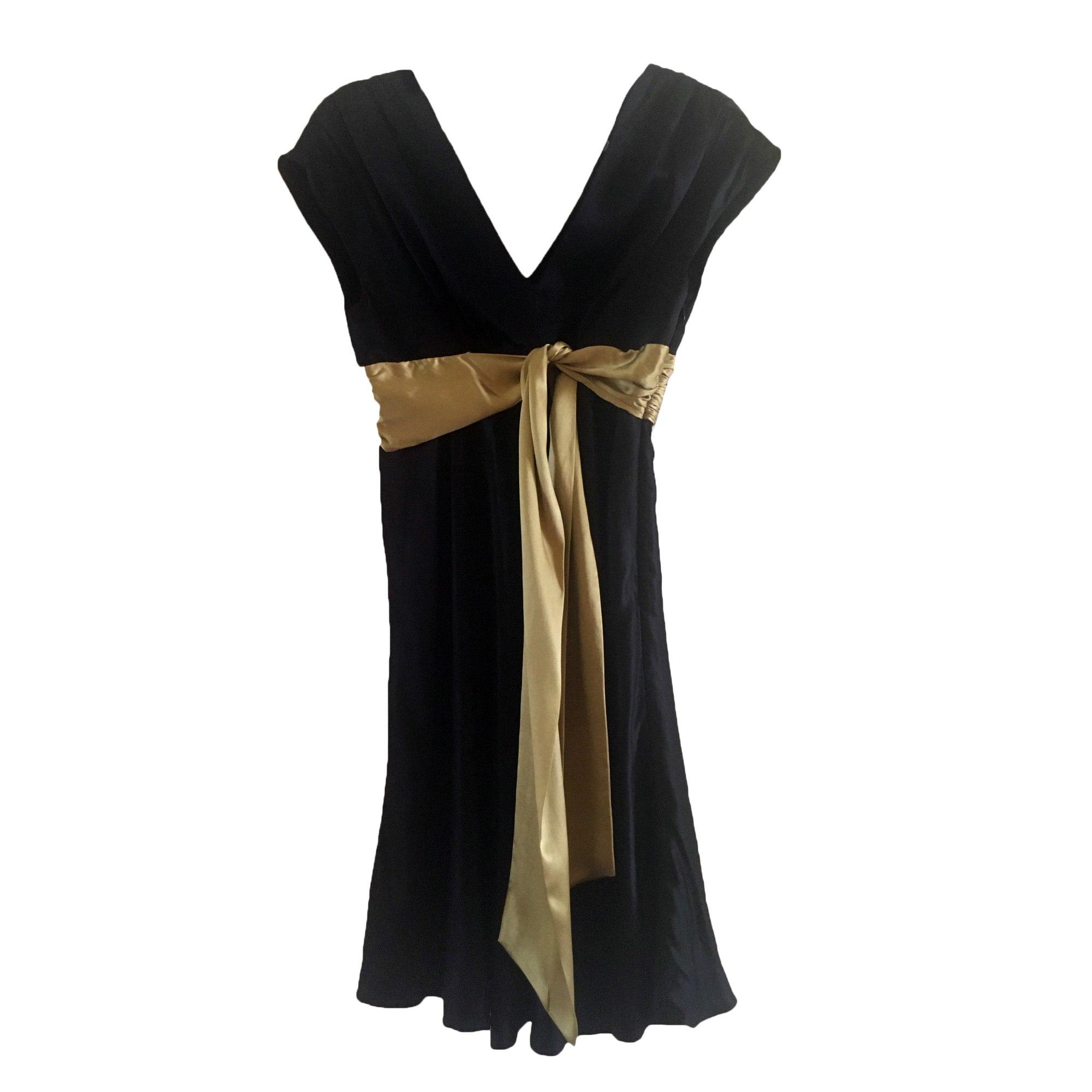 Robe mi-longue NINE WEST Noir