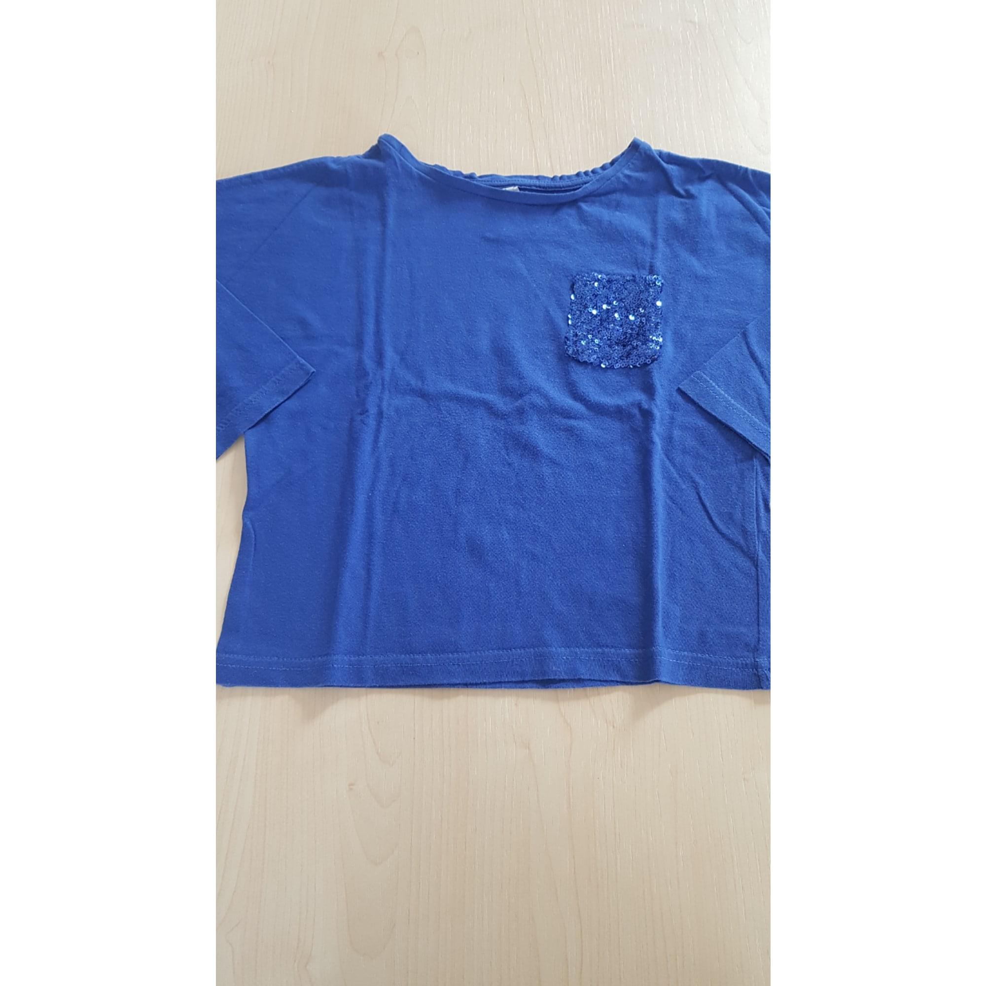Top, Tee-shirt KID'S GRAFFITI Bleu, bleu marine, bleu turquoise