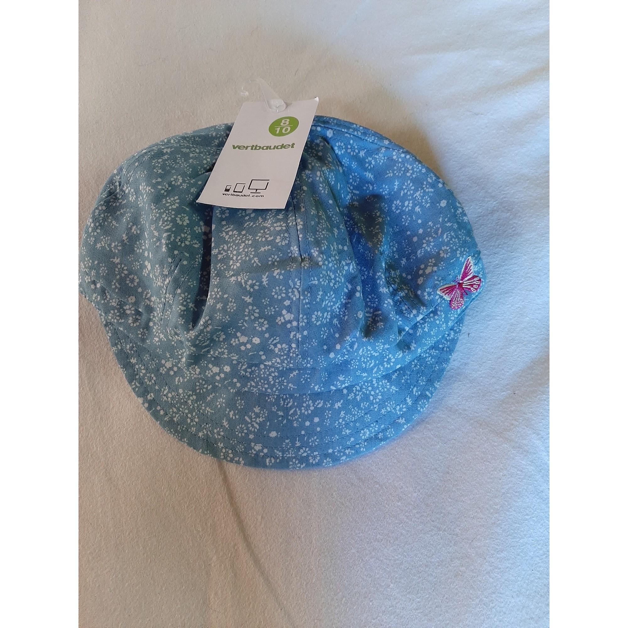 Casquette VERTBAUDET Bleu, bleu marine, bleu turquoise