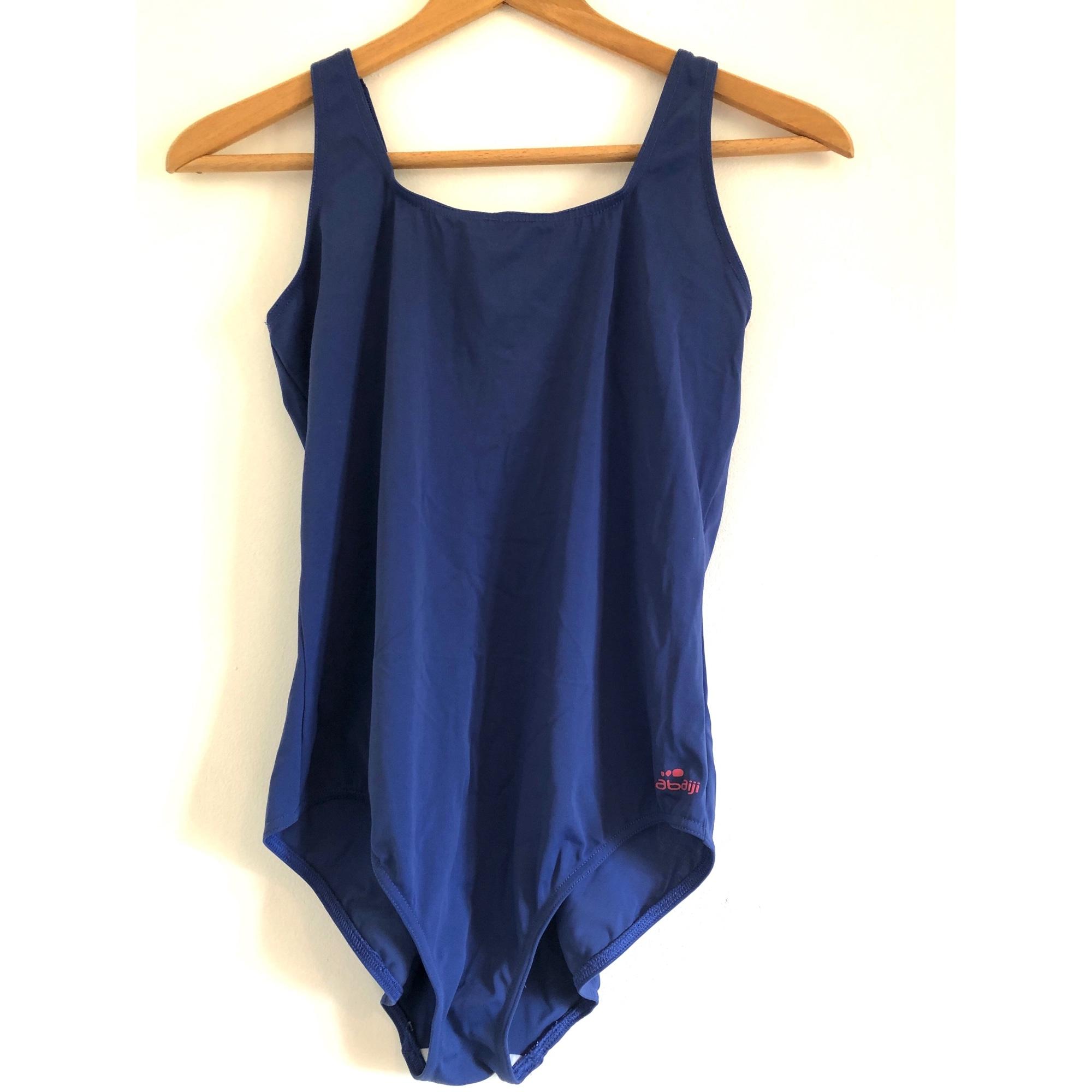 Maillot de bain une-pièce DÉCATHLON Bleu, bleu marine, bleu turquoise