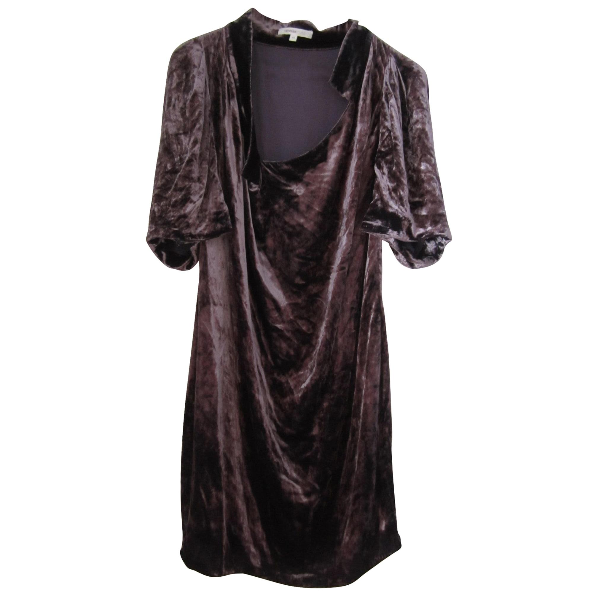 Robe courte VANESSA BRUNO Marron