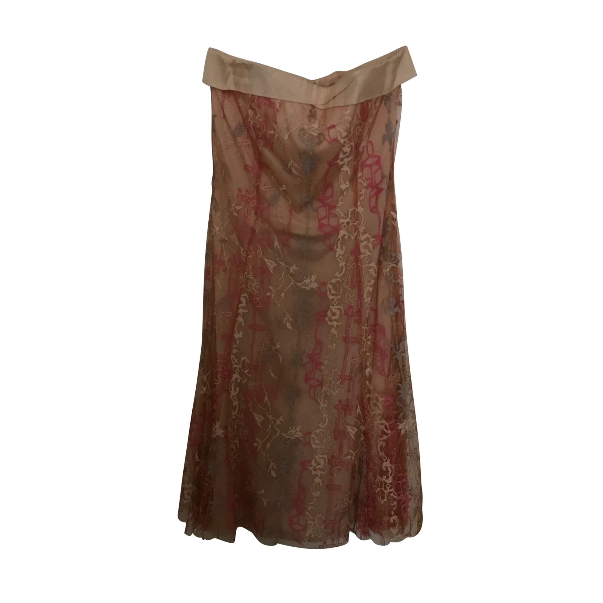 Robe bustier CHRISTIAN LACROIX Rose, fuschia, vieux rose