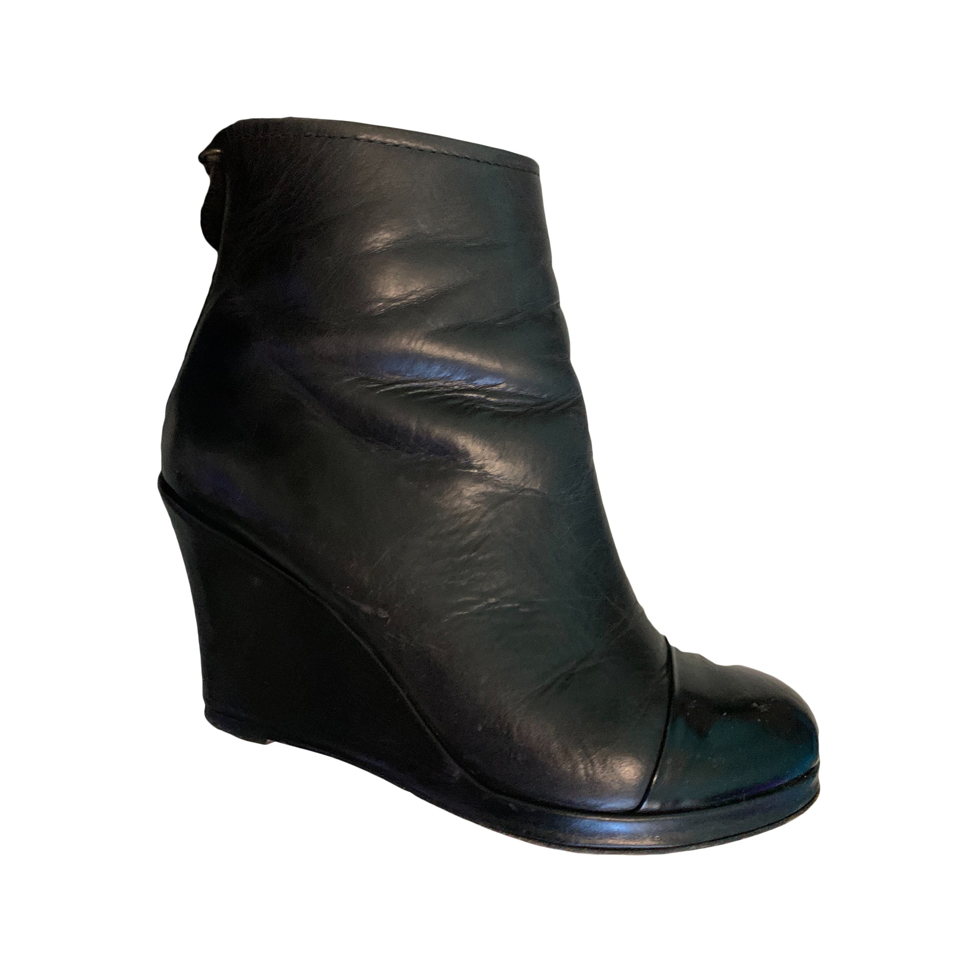 Wedge Ankle Boots GERARD DAREL Black