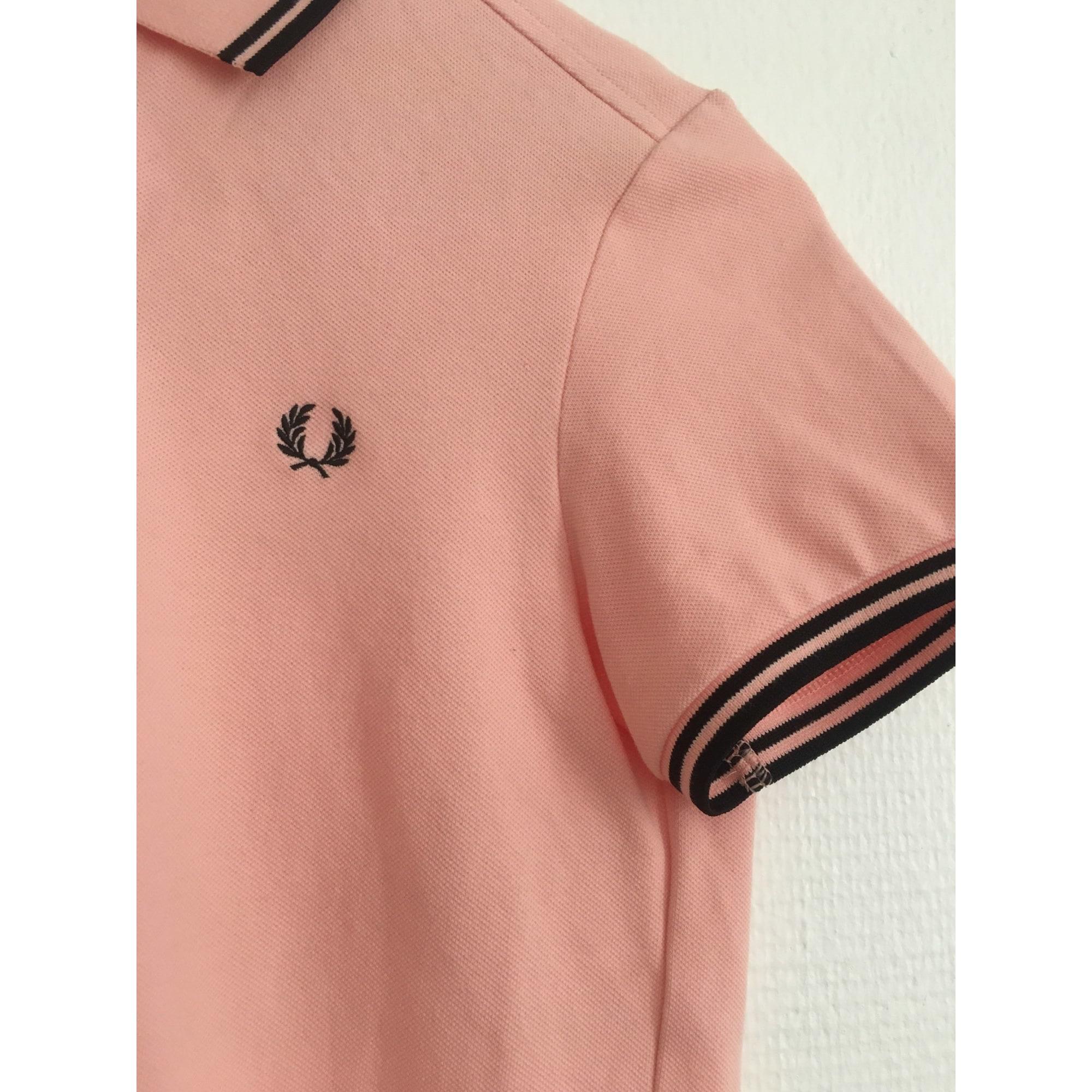 Top, tee-shirt FRED PERRY Rose, fuschia, vieux rose