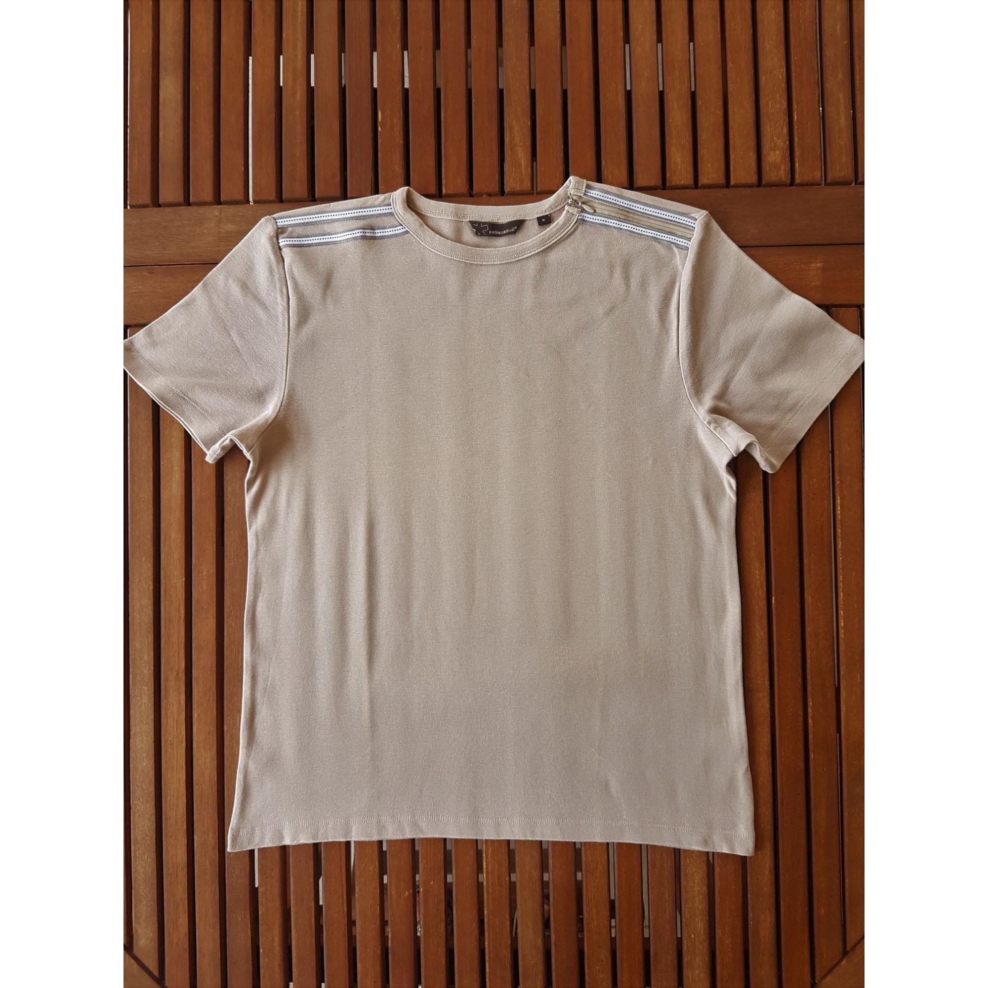 T-shirt CELIO Beige, camel