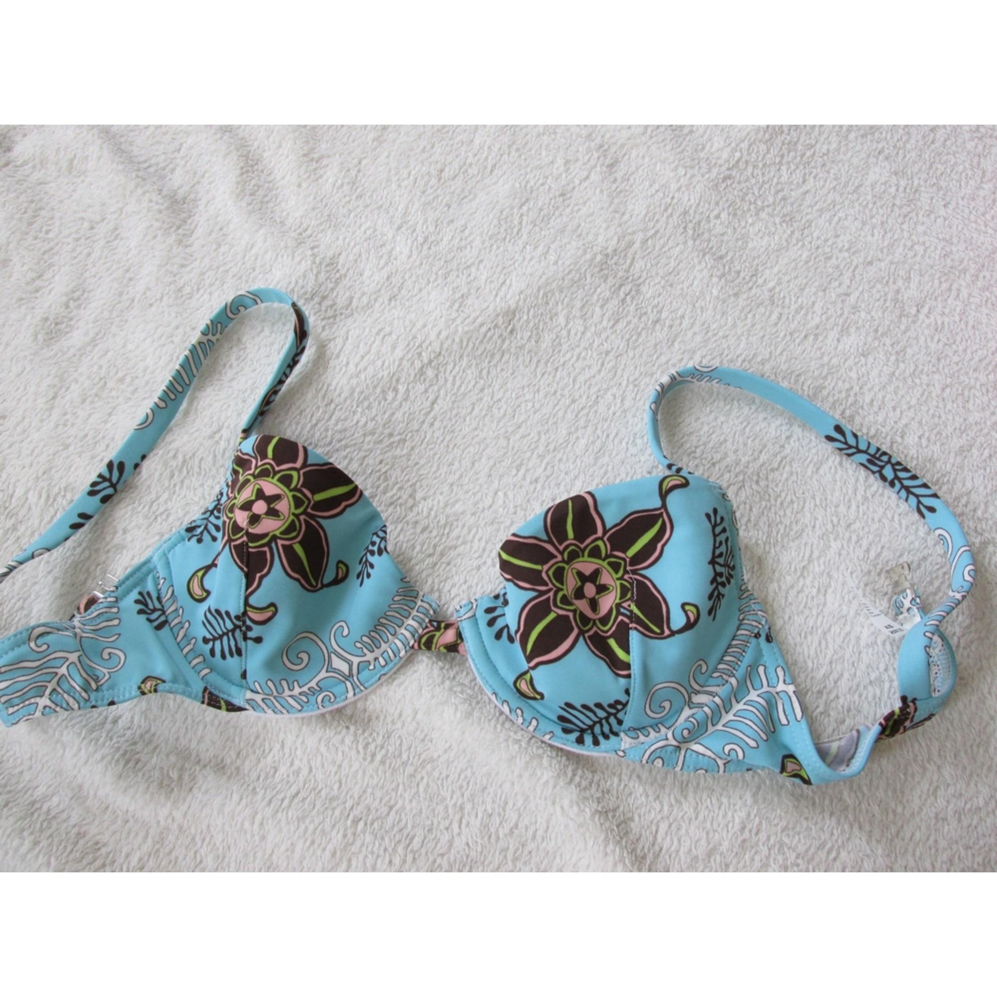 Maillot de bain deux-pièces TANAÏS Bleu, bleu marine, bleu turquoise